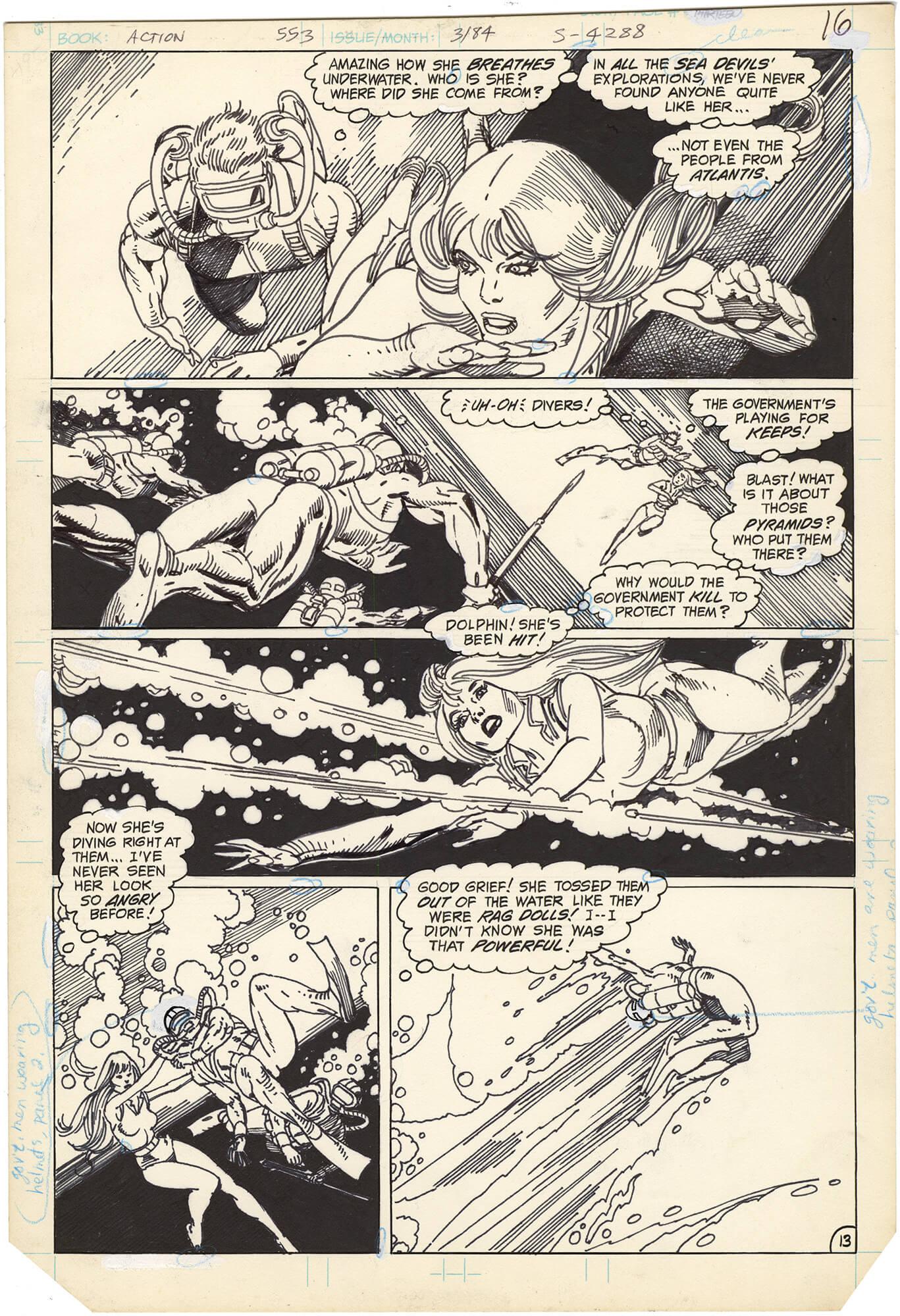 Action Comics #553 p13