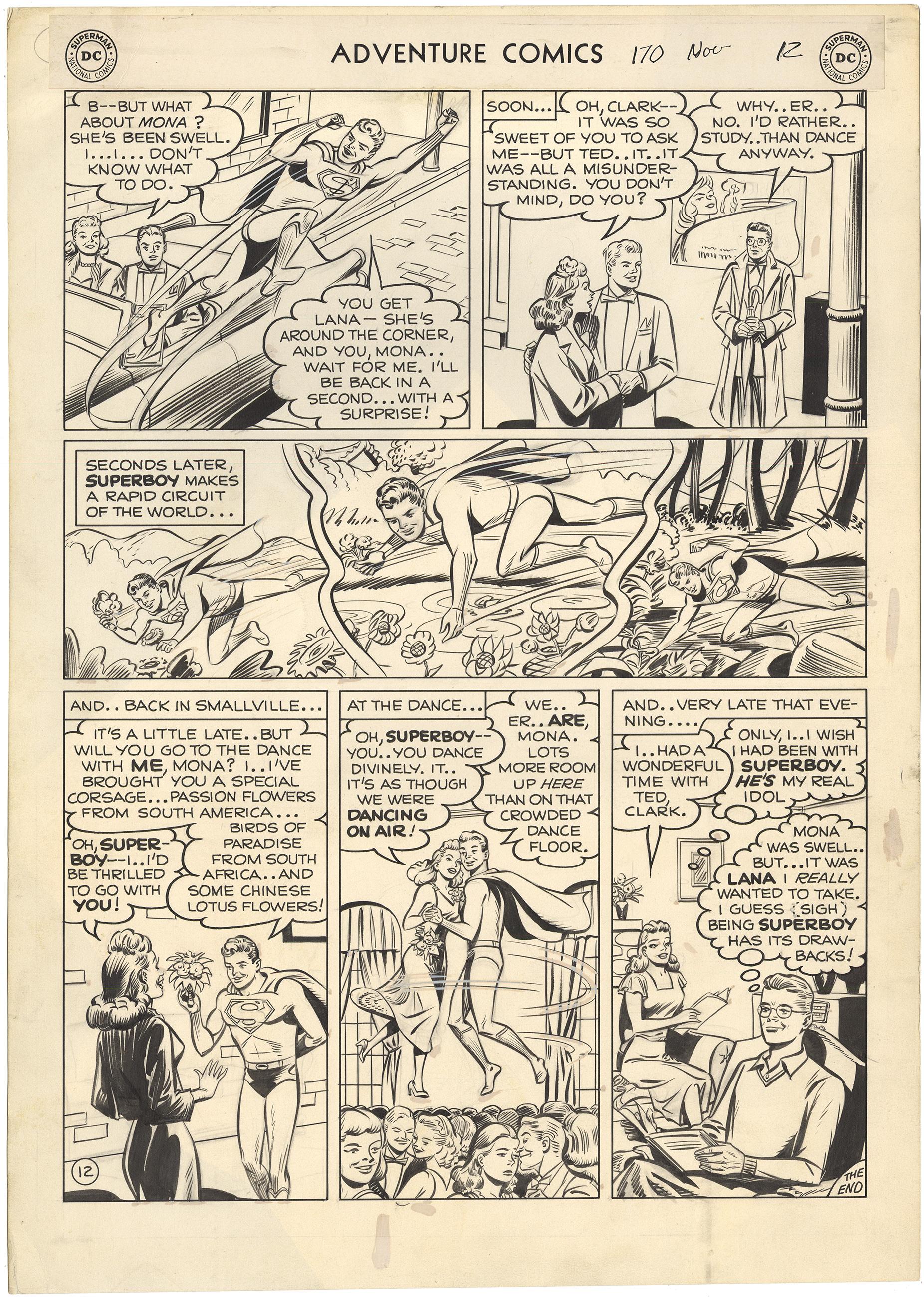 Adventure Comics #170 p12 (Large Art)