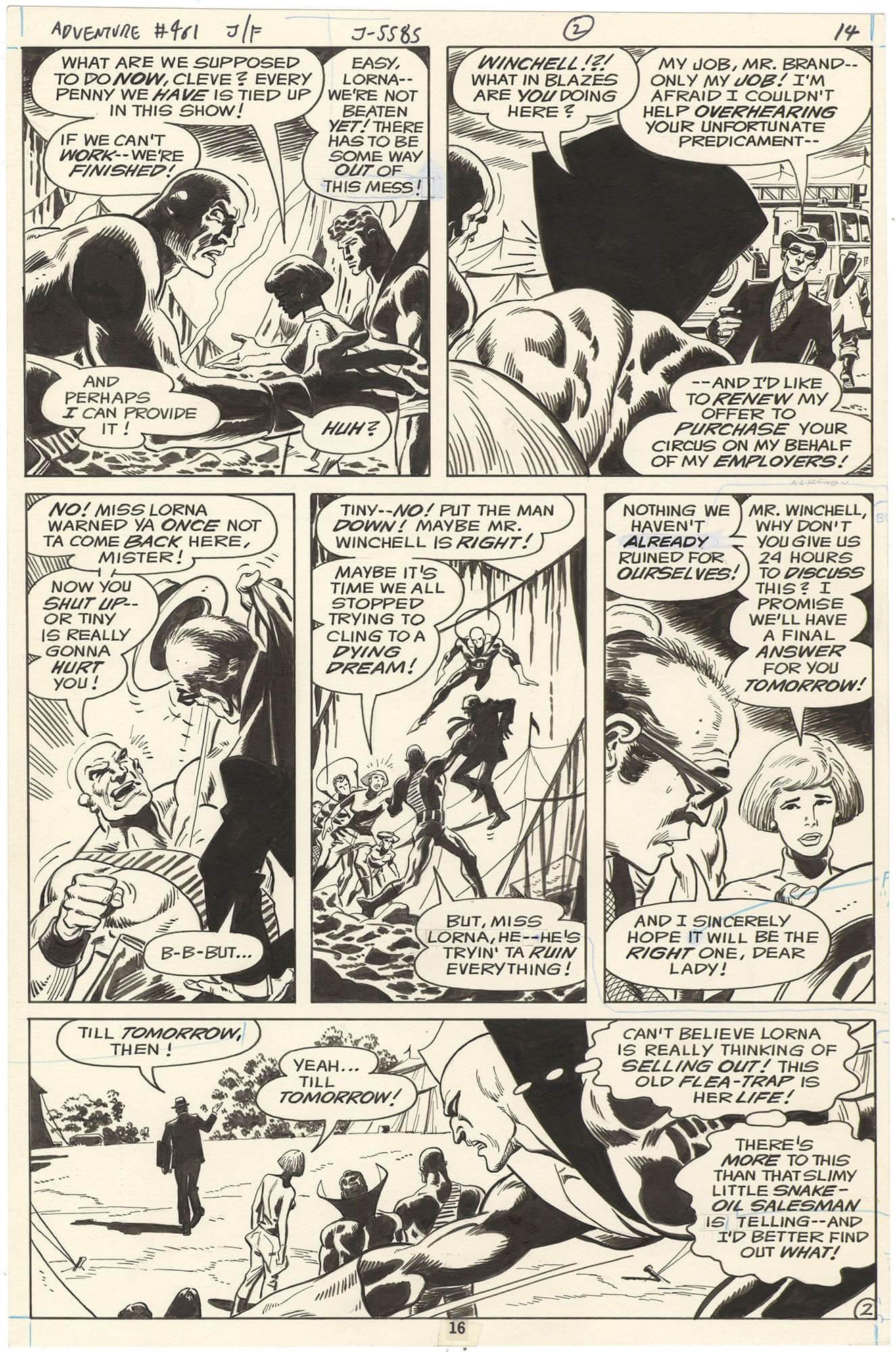 Adventure Comics #461 p16