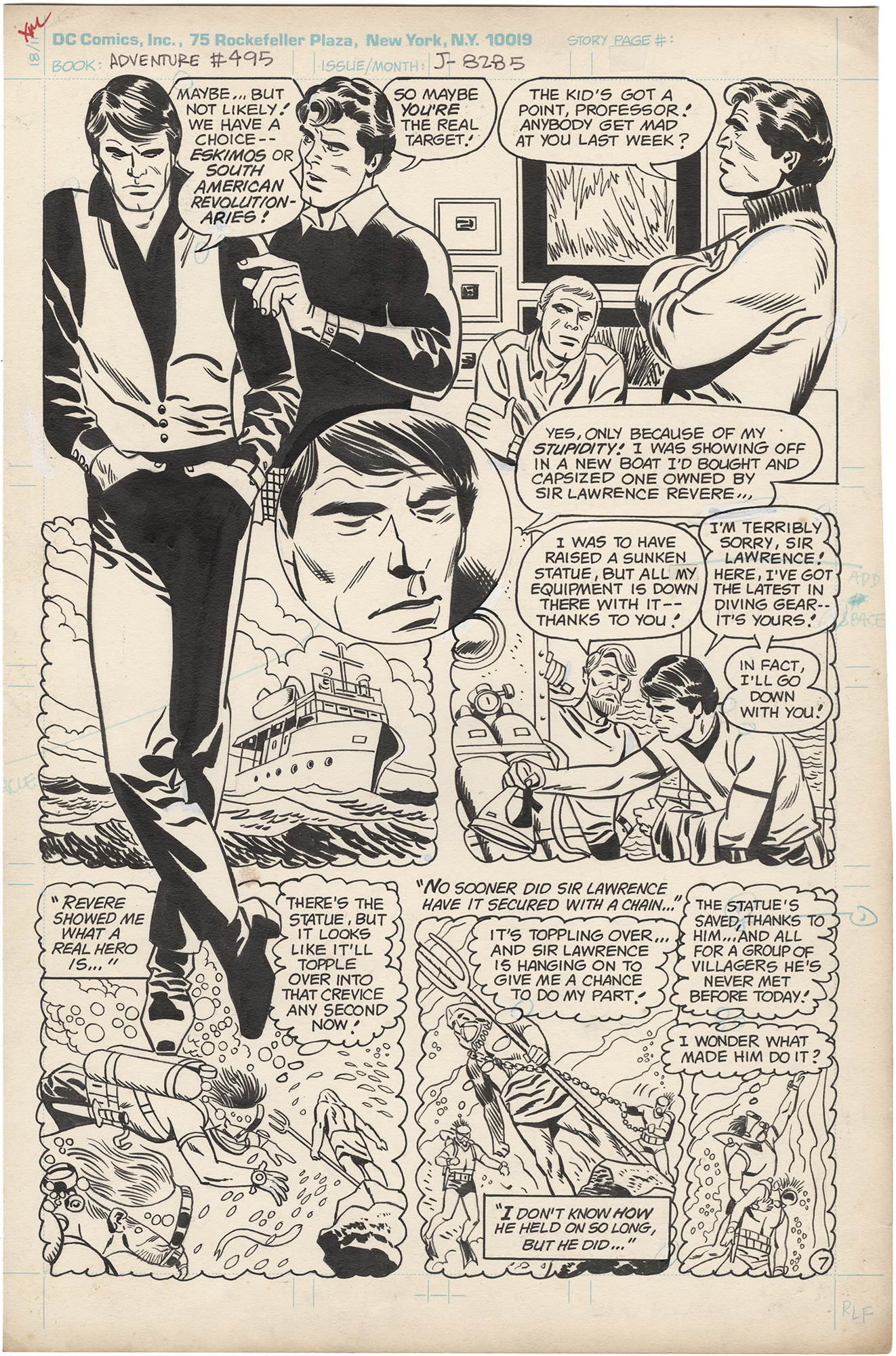 Adventure Comics #495 p7