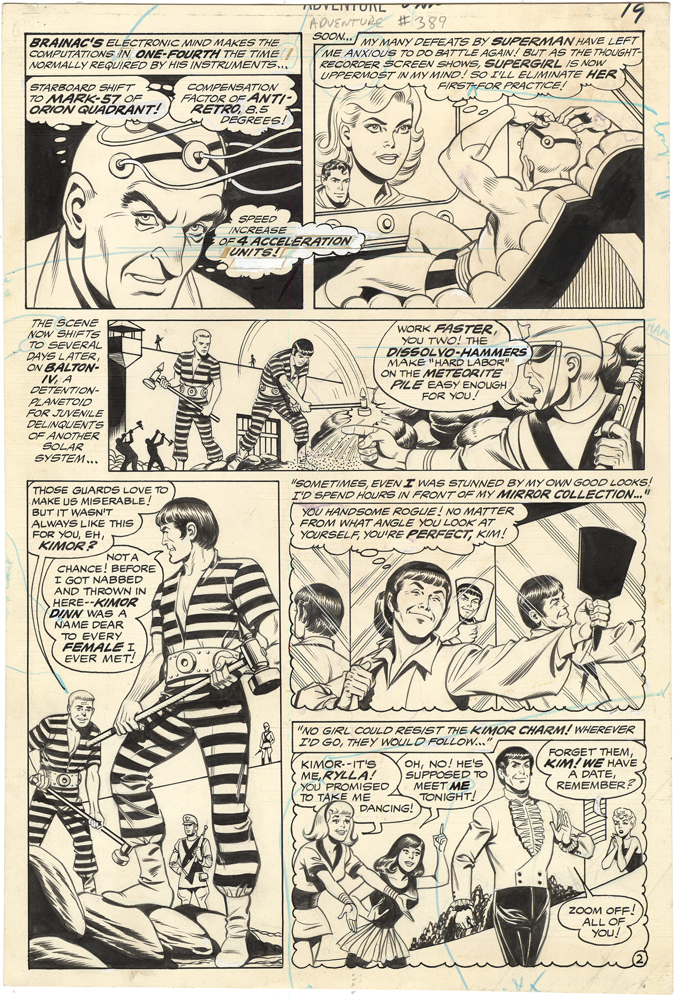 Adventure Comics #389 p2