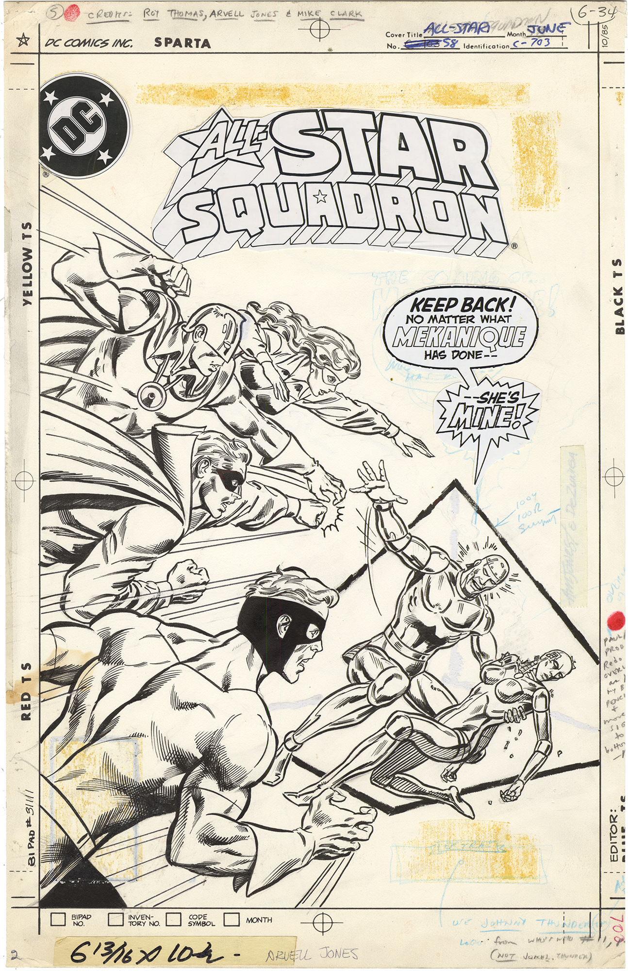 All-Star Squadron #58 Cover