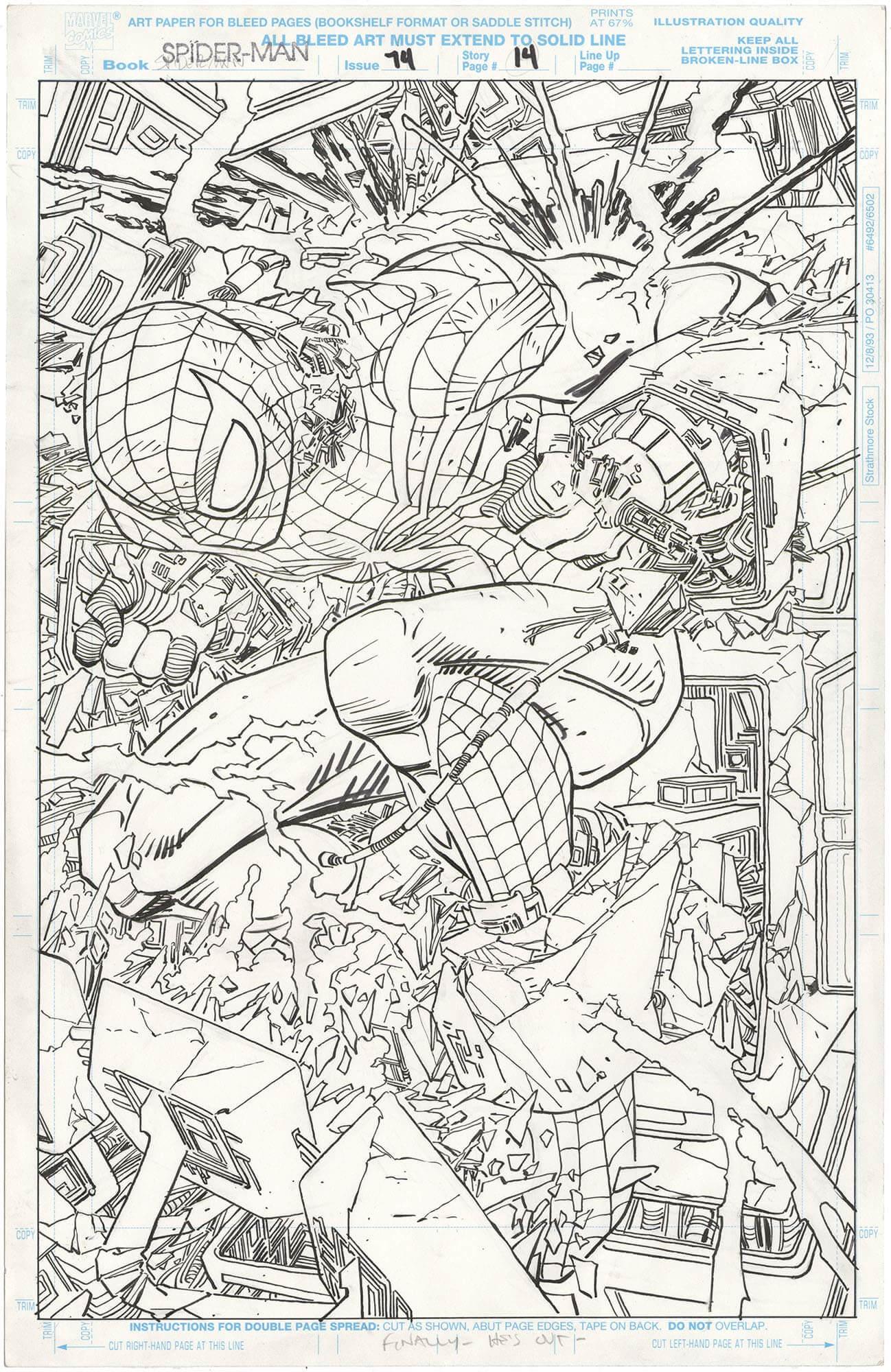 Spider-Man #74 p14 (Splash)