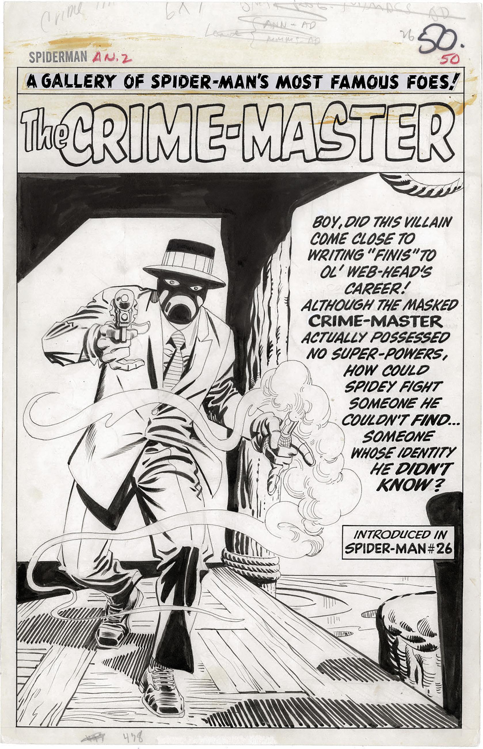 Amazing Spider-Man Annual #2 p50 (Large Art, Splash)