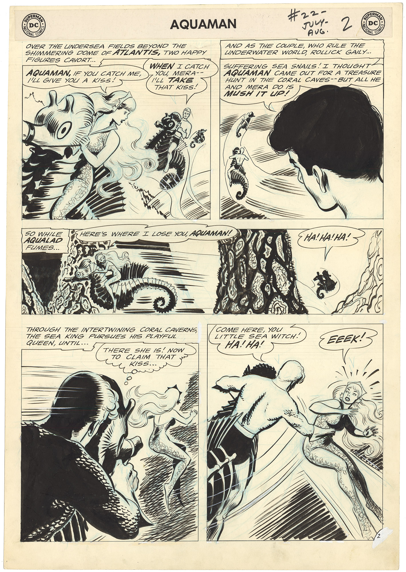 Aquaman #22 p2 (Large Art)