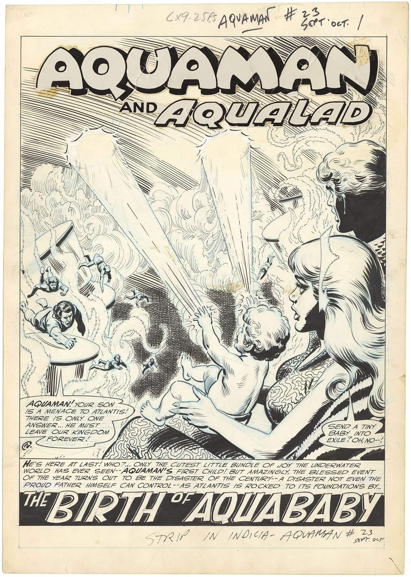 Aquaman #23 p1 (Large Art-Splash)