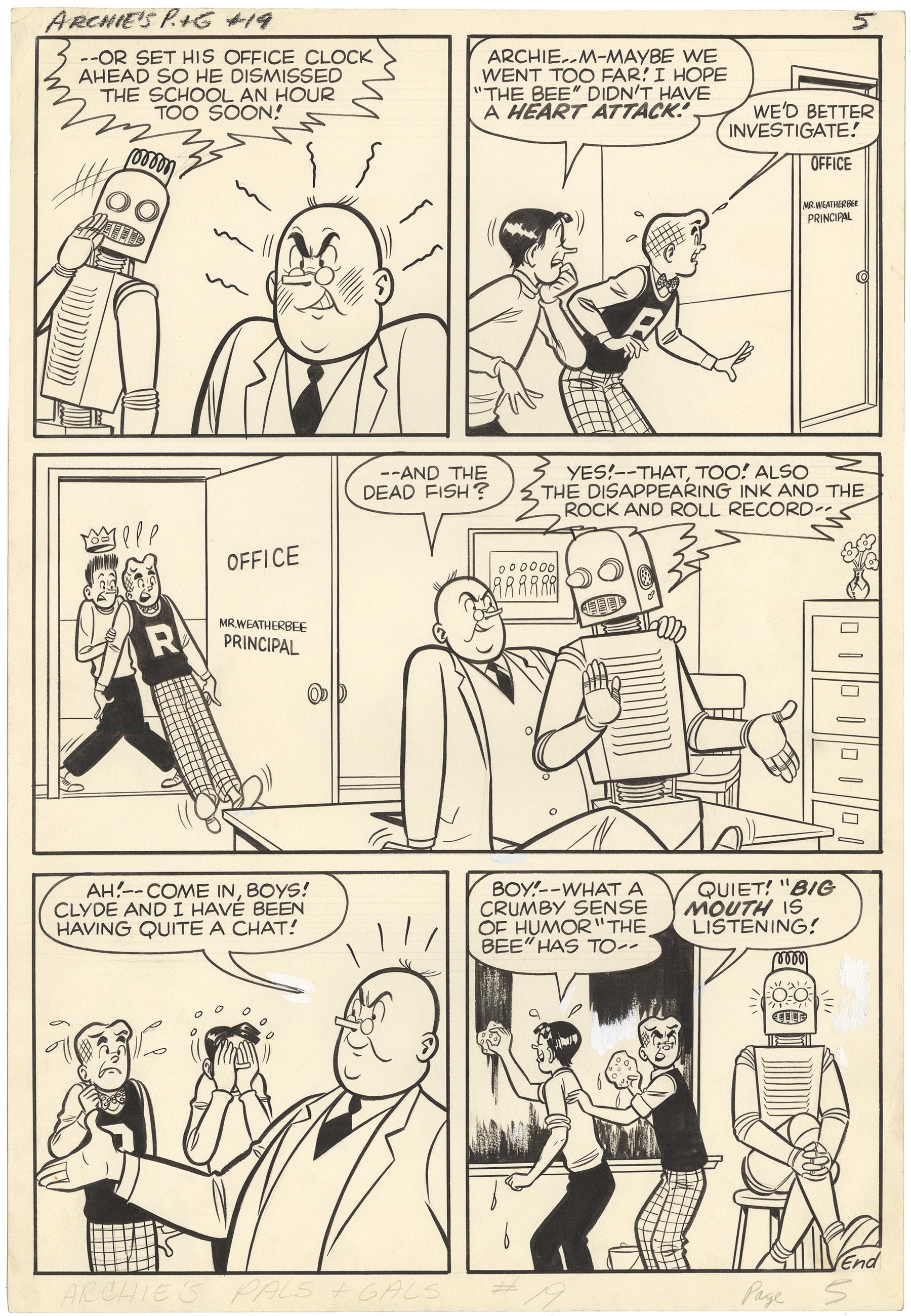 "Archie's Pals ""n"" Gals, #19 p5"