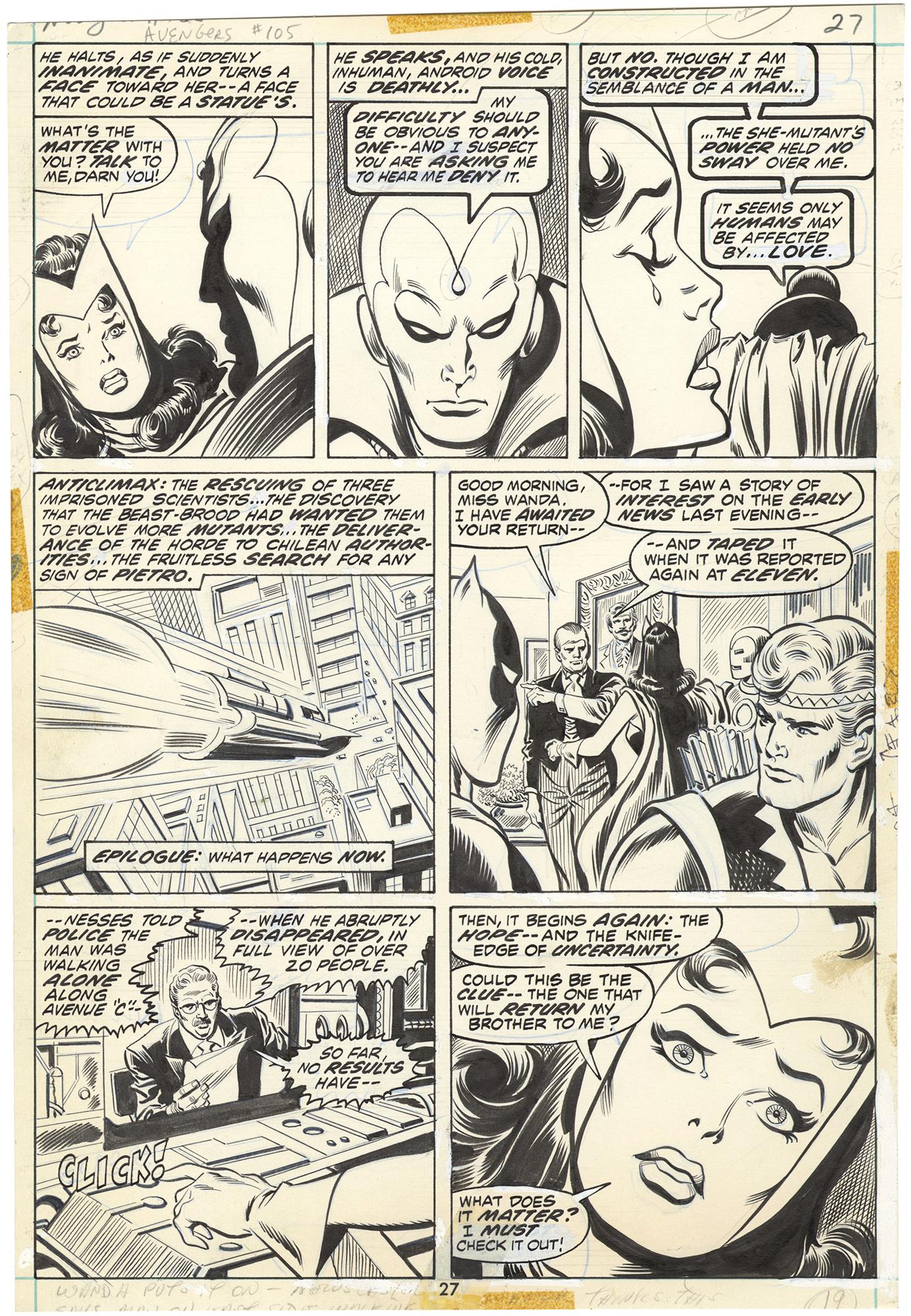 Avengers #105 p27