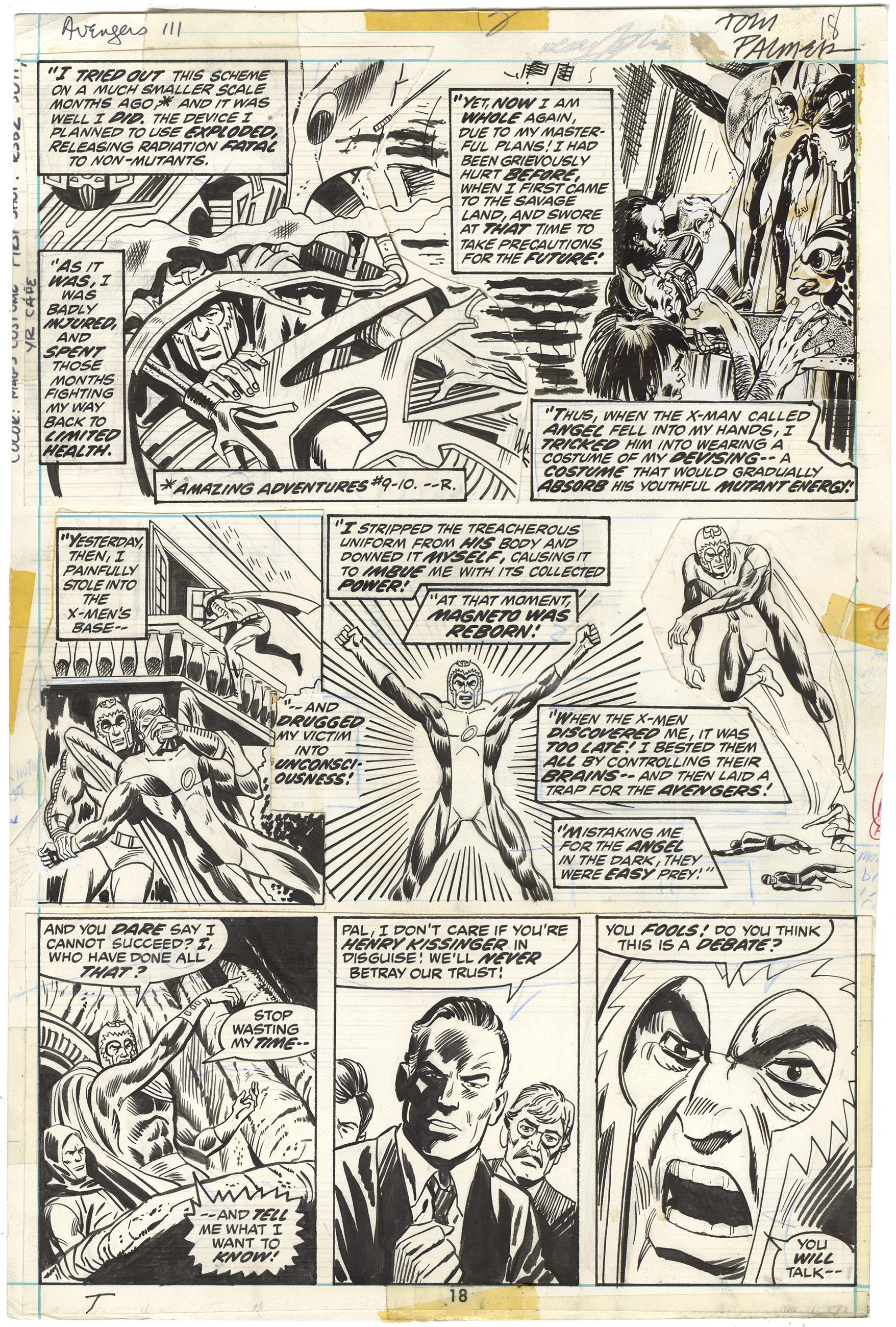 Avengers #111 p18