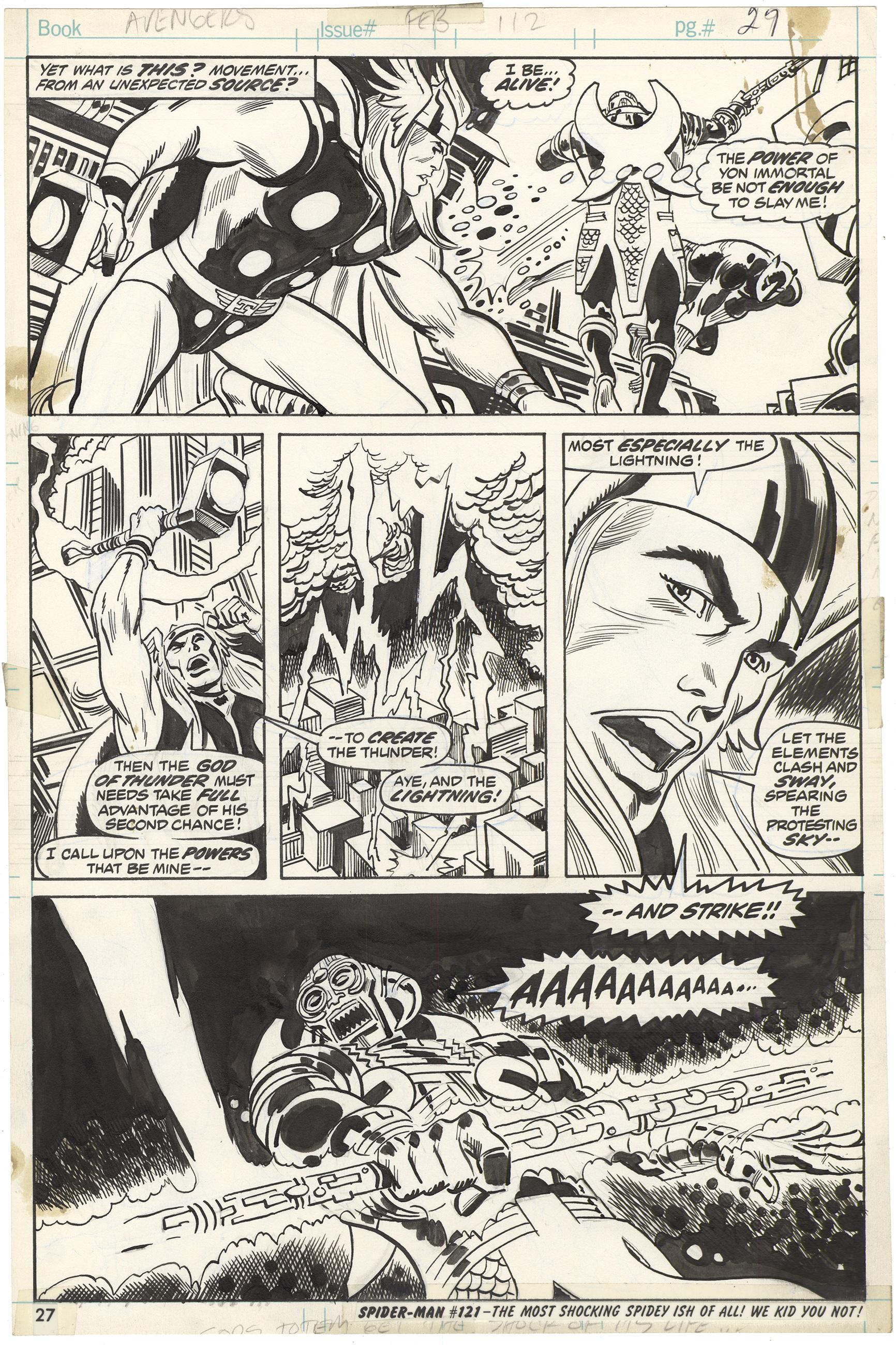 Avengers #112 p27