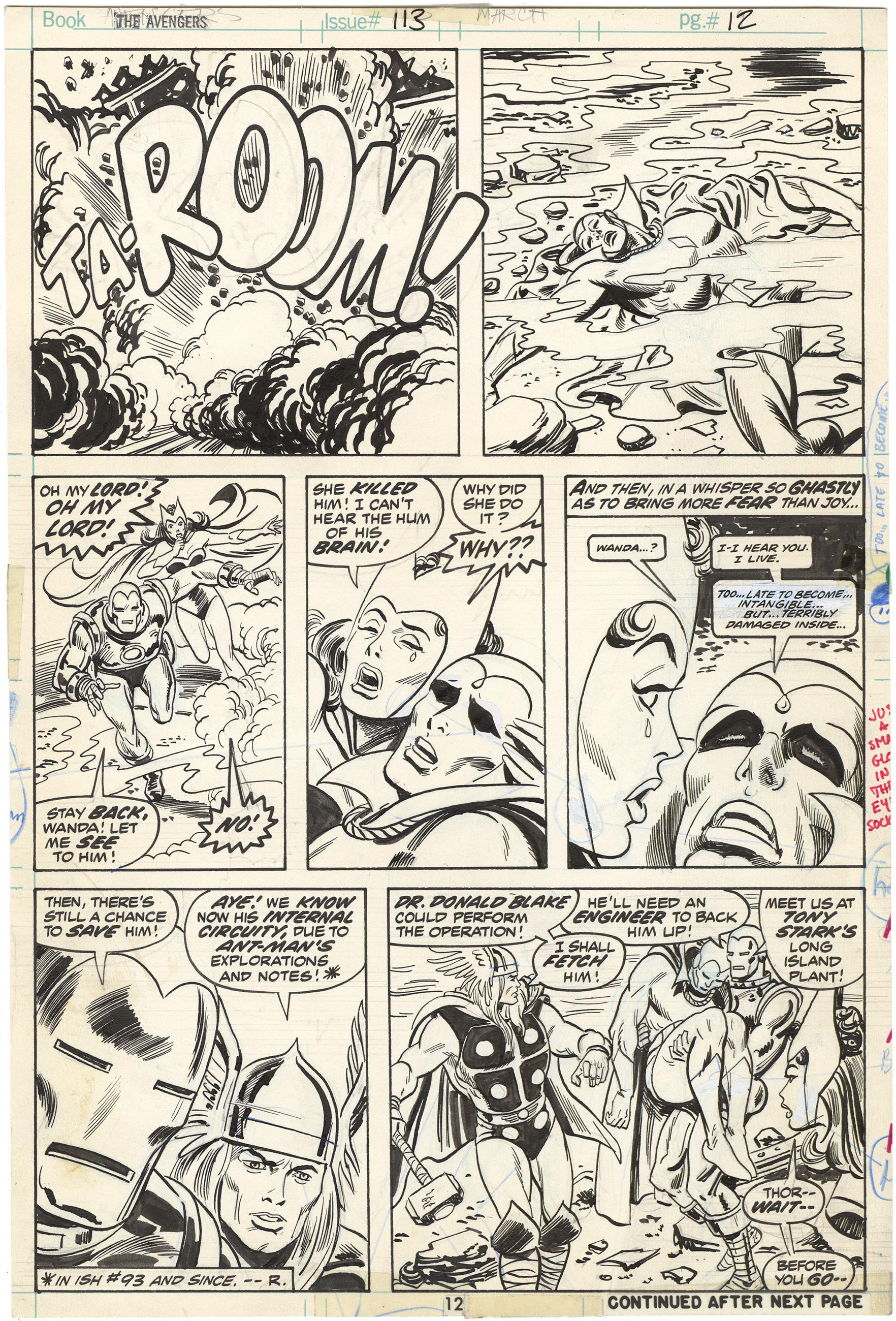 Avengers #113 p12