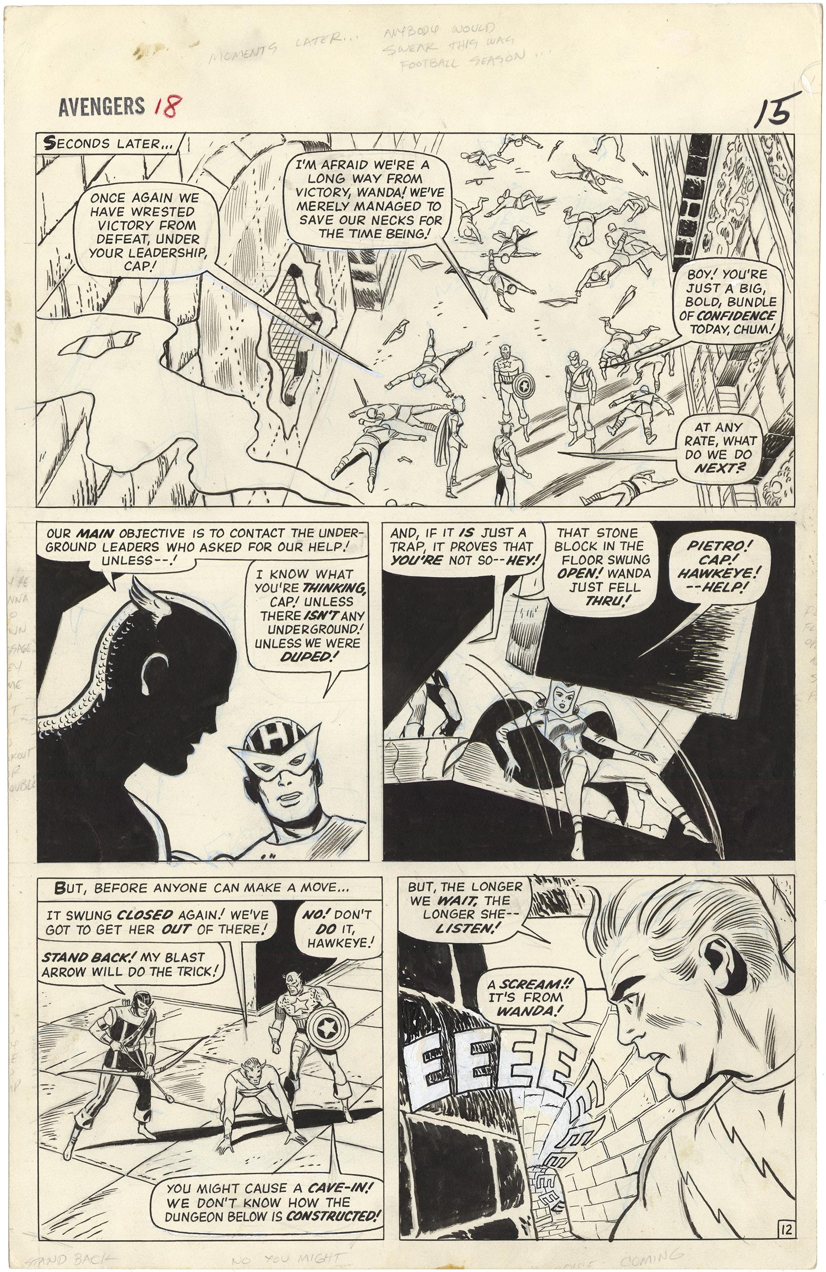 Avengers #18 p12 (Large Art)
