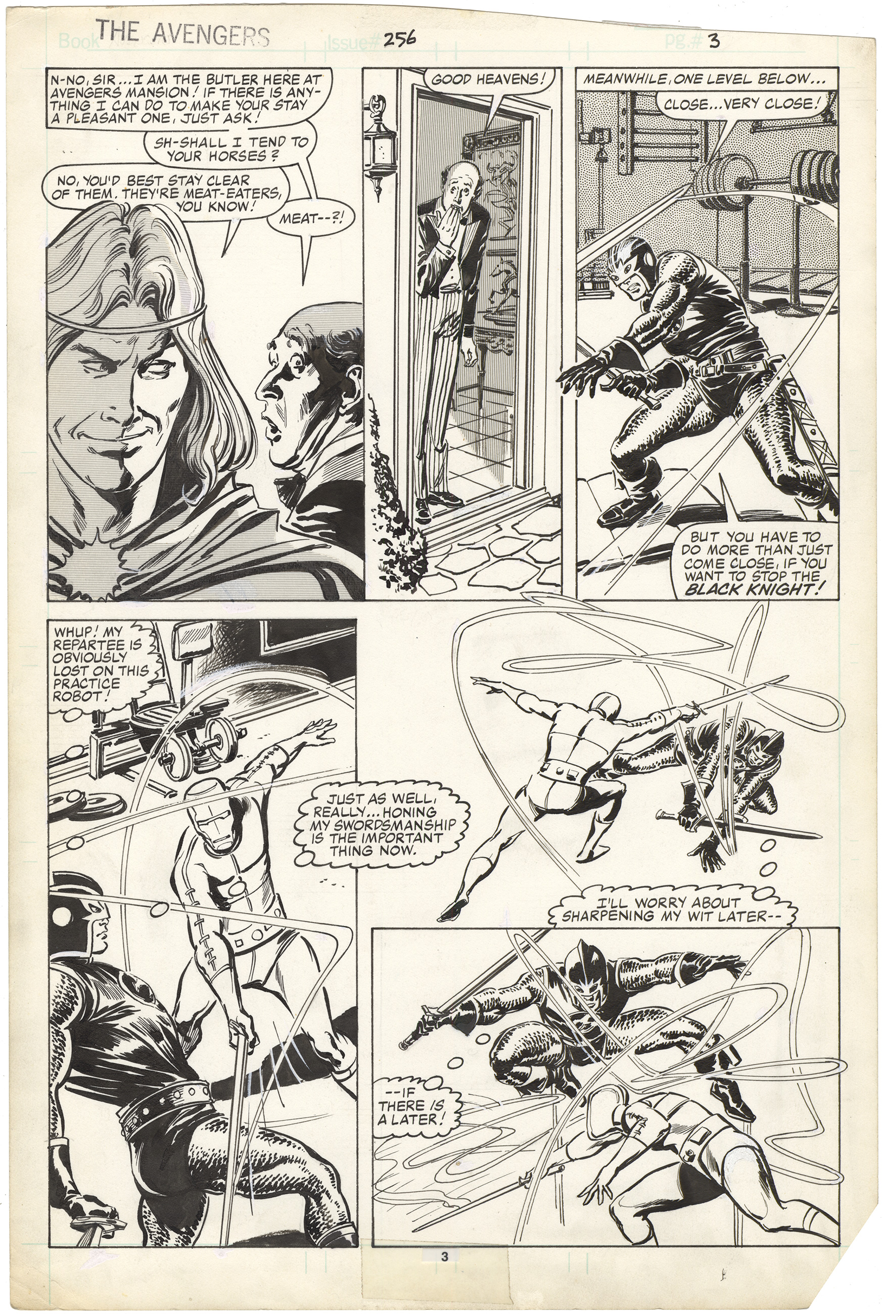 Avengers #256 p3
