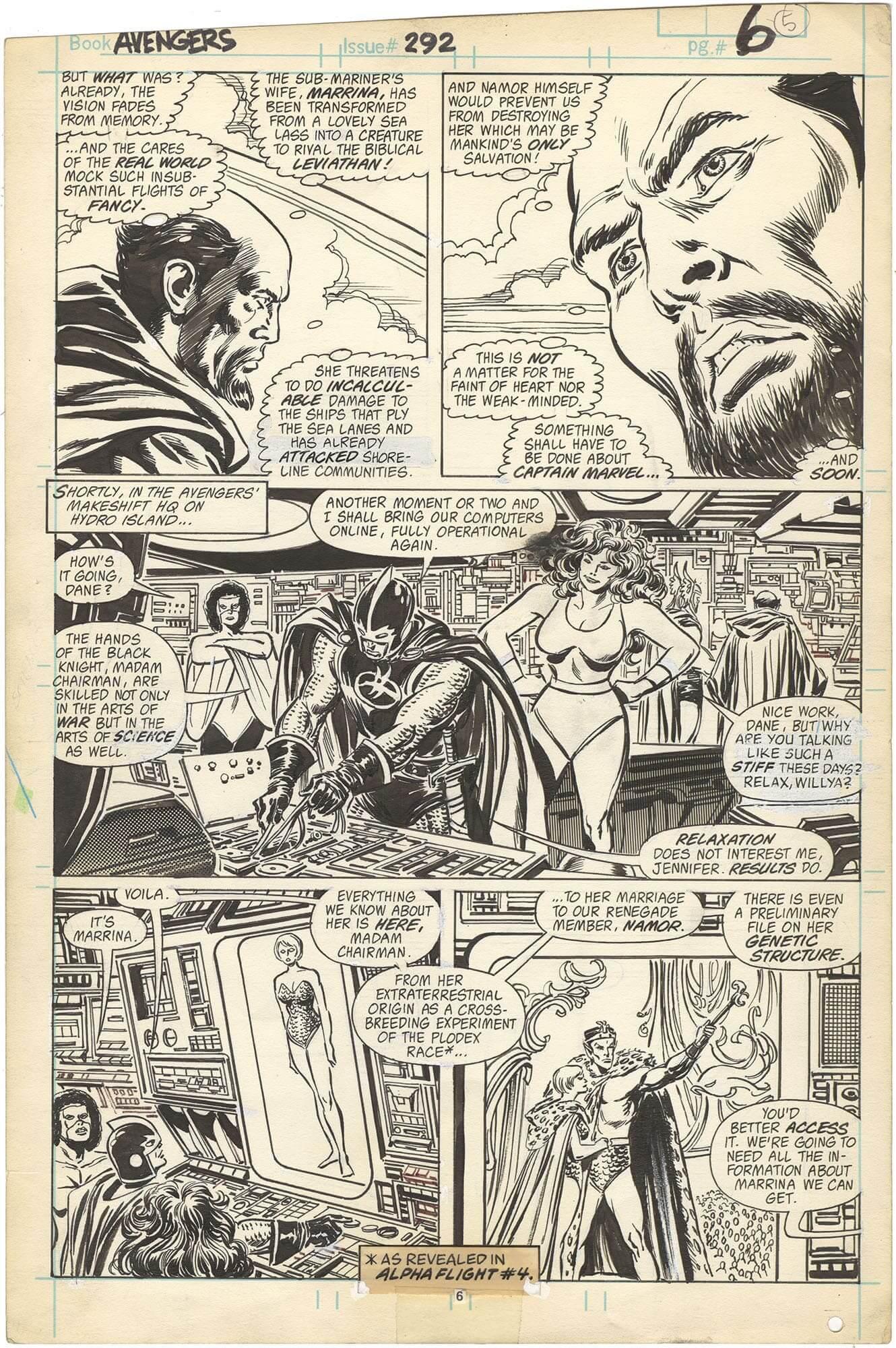 Avengers #292 p6