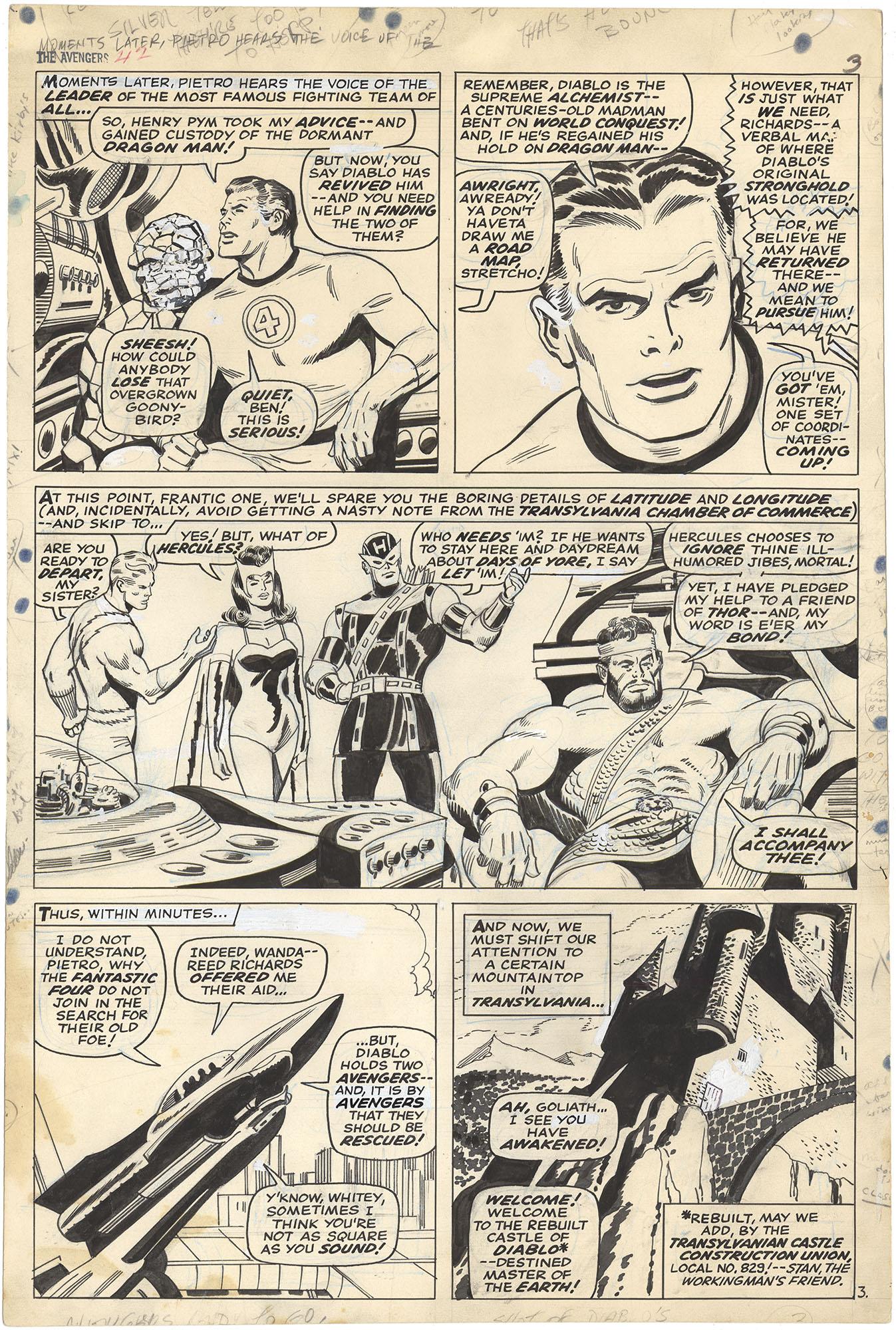 Avengers #42 p3 (Large Art)