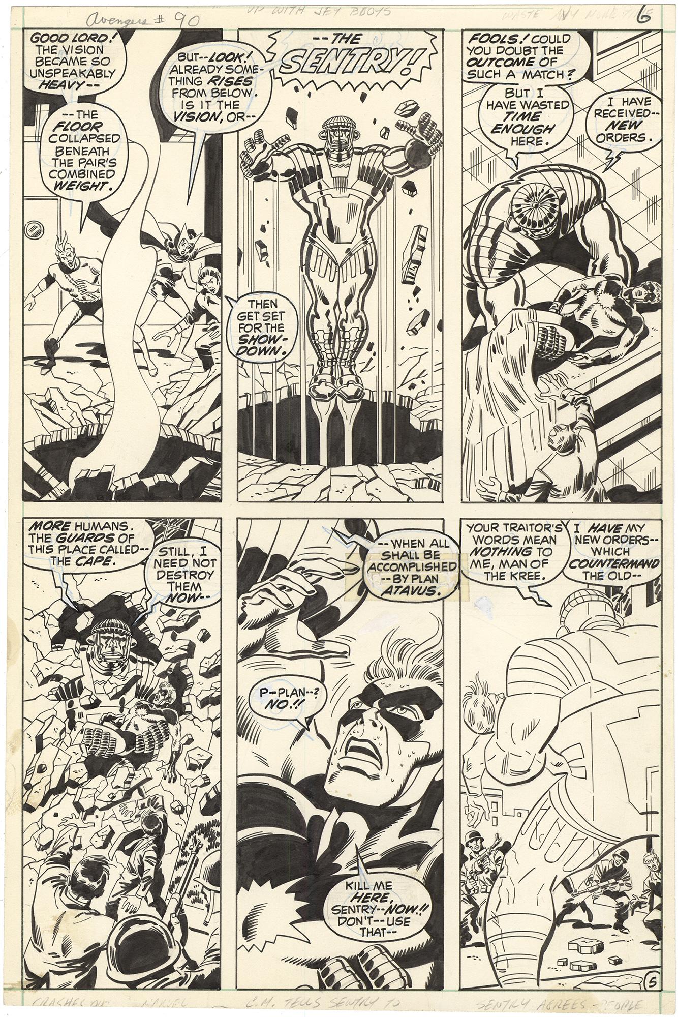 Avengers #90 p5