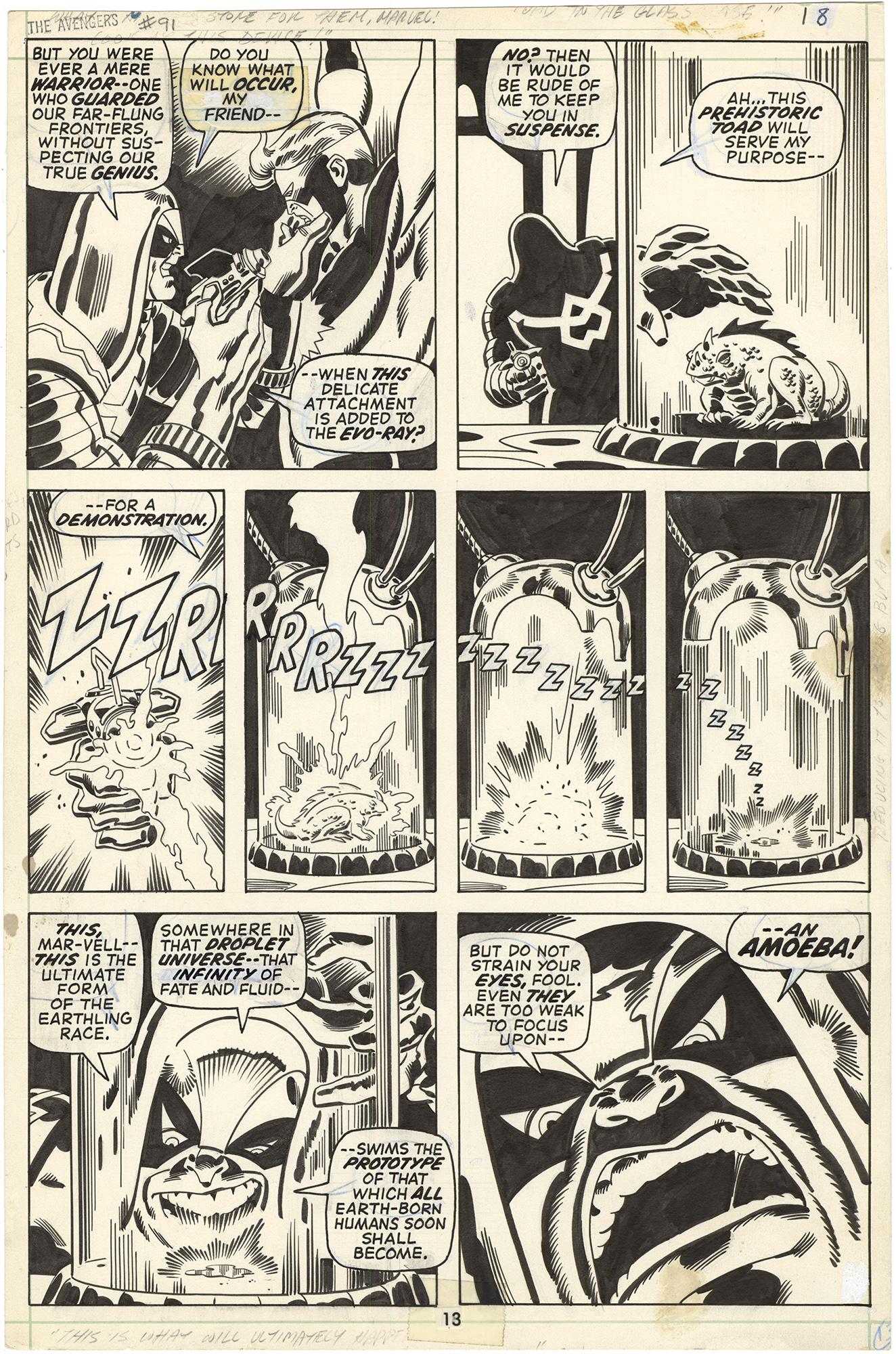 Avengers #91 p13