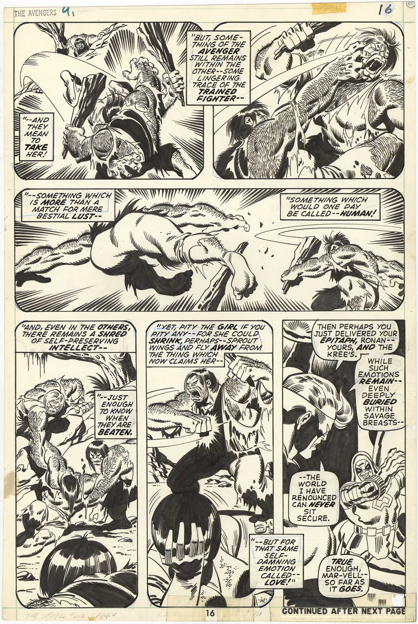 Avengers #91 p16