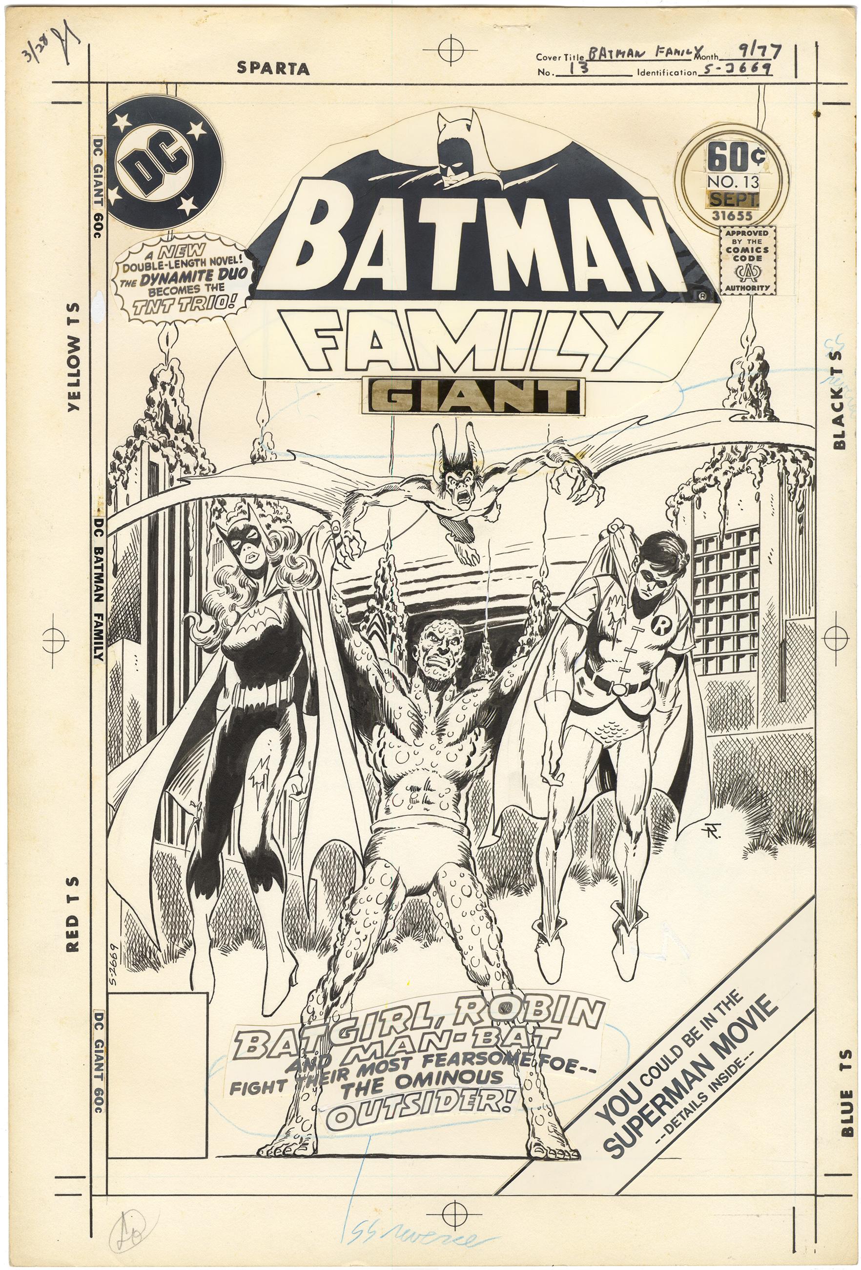 Batman Family #13 Cover