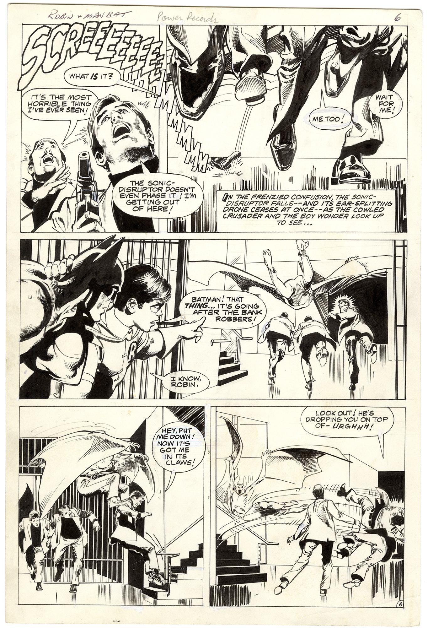 Batman: Robin Meets Man-Bat! [Power Records] #1 p6
