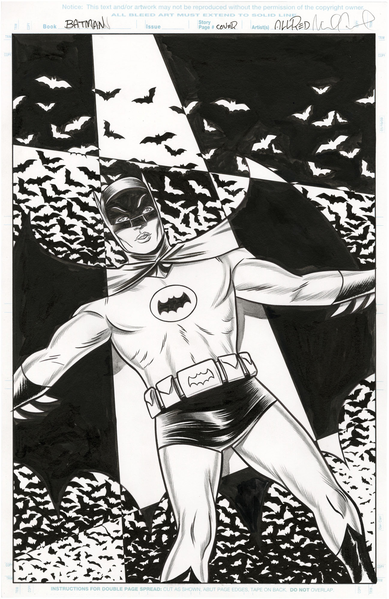 Batman '66 #31 Variant Cover
