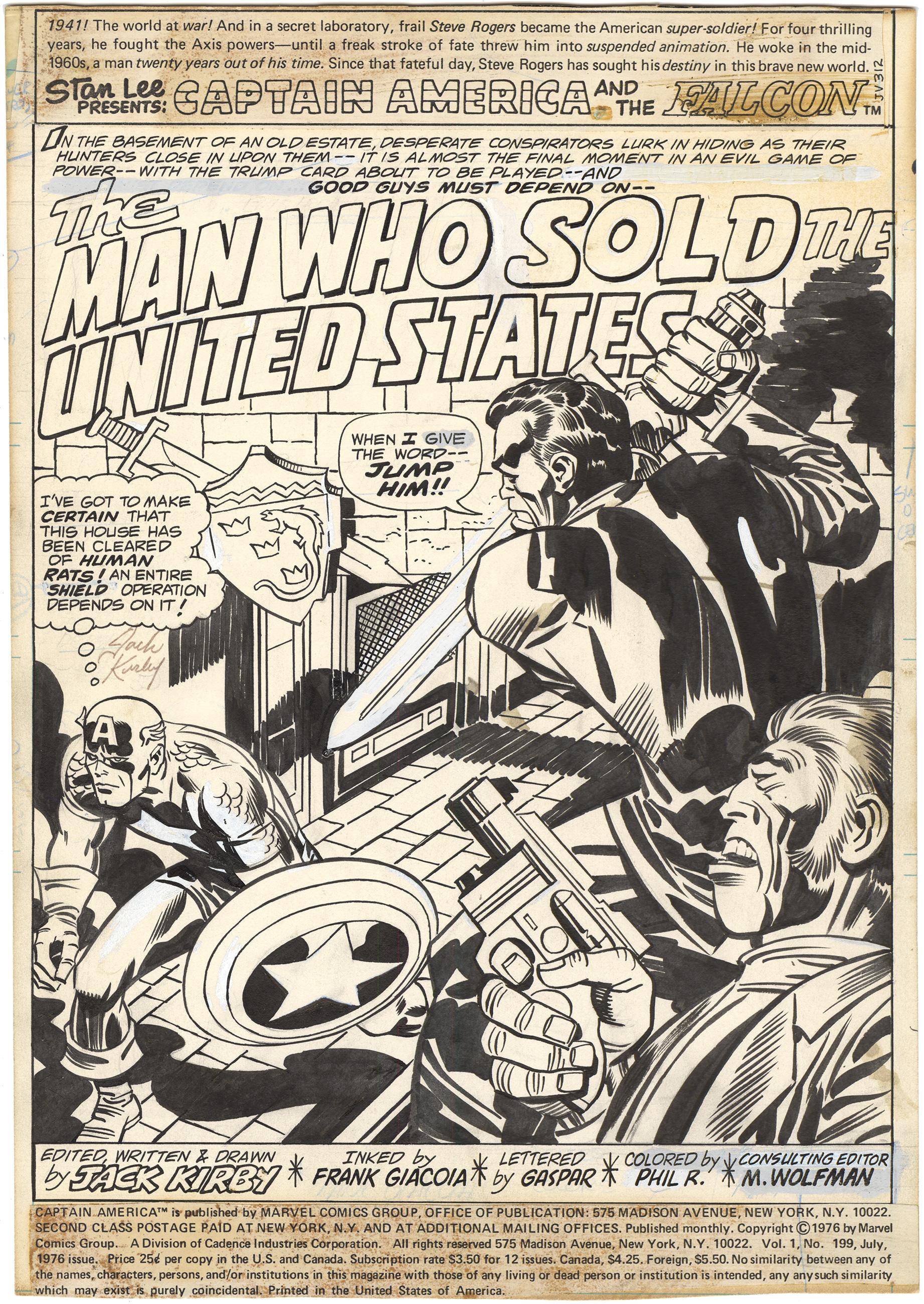 Captain America #199 p1