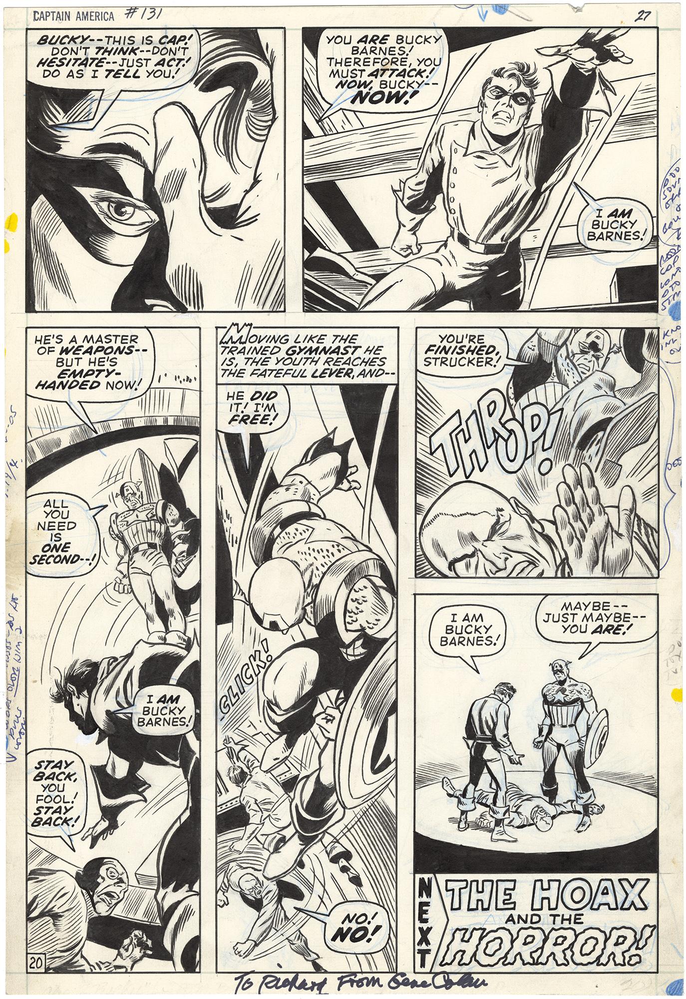 Captain America #131 p20