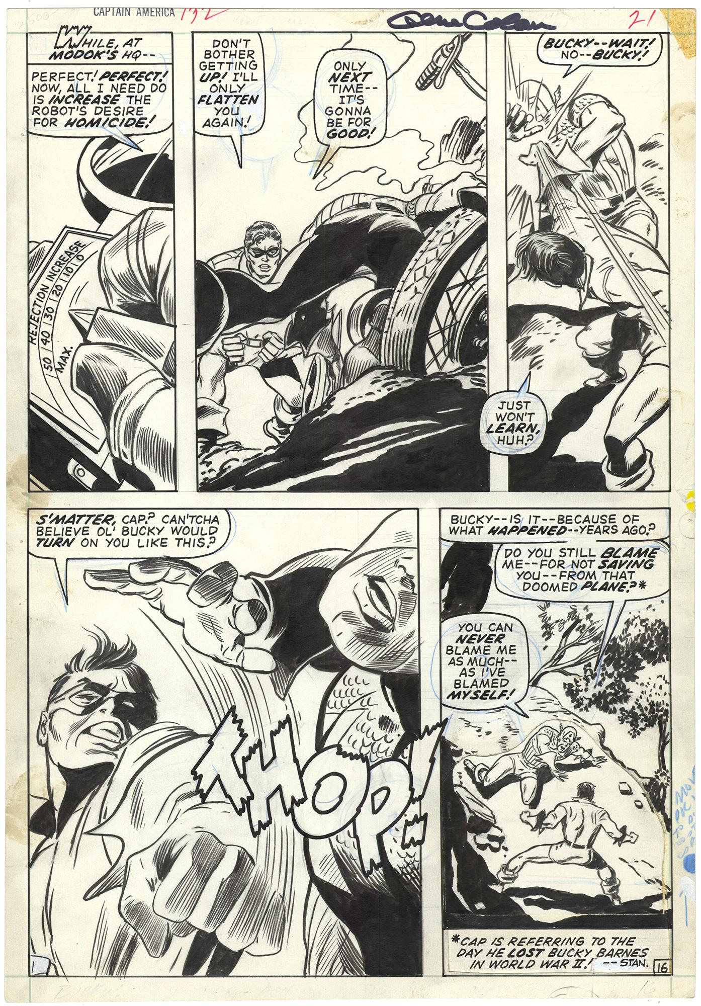 Captain America #132 p16