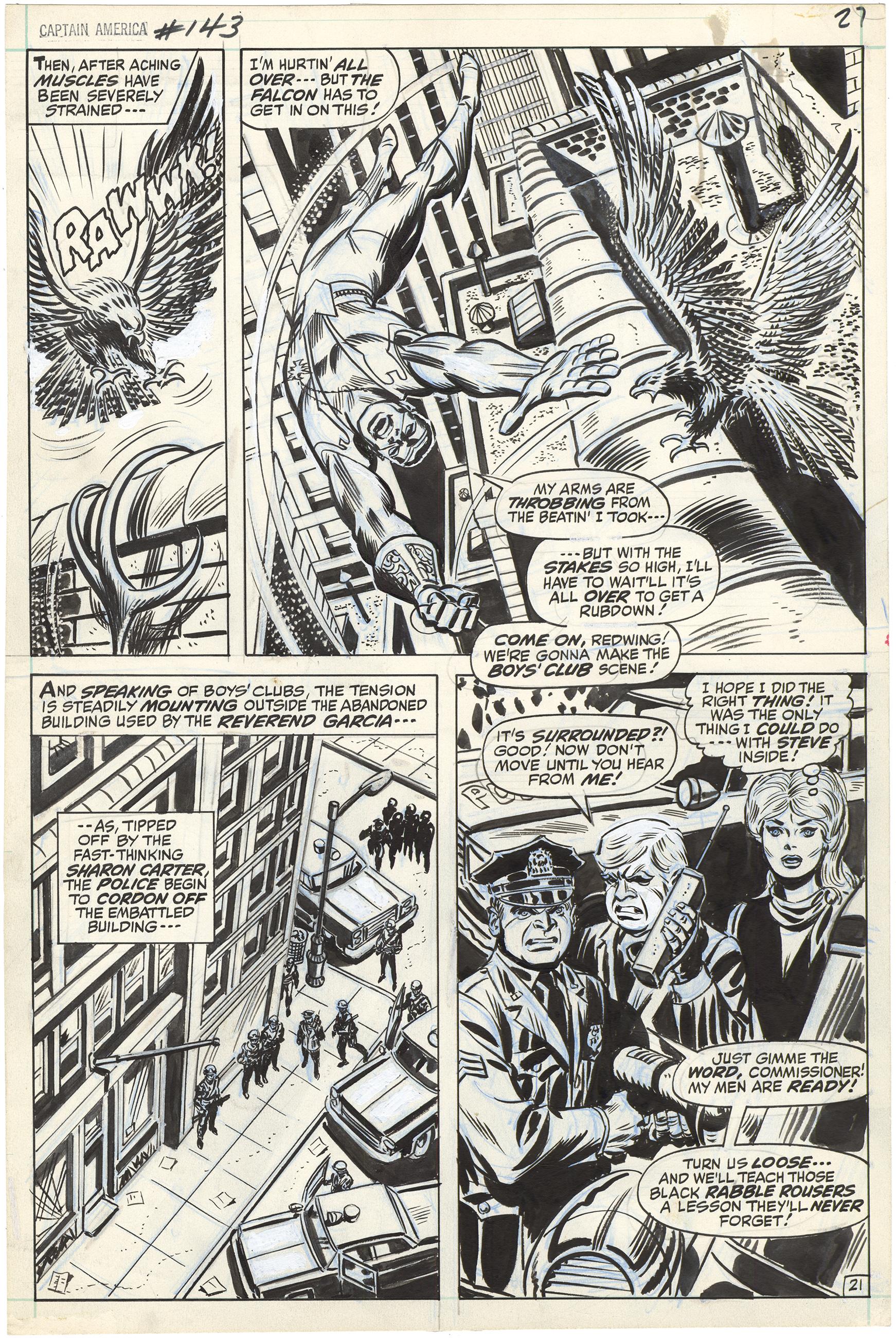 Captain America #143 p21