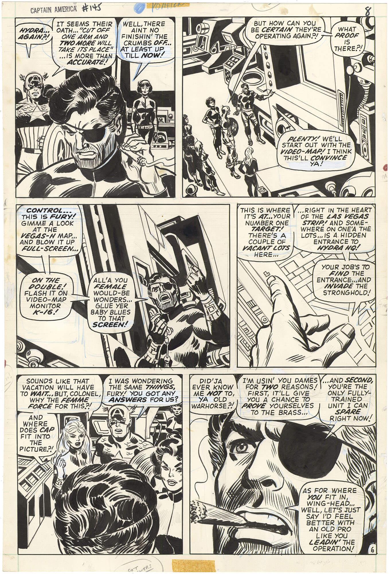Captain America #145 p6