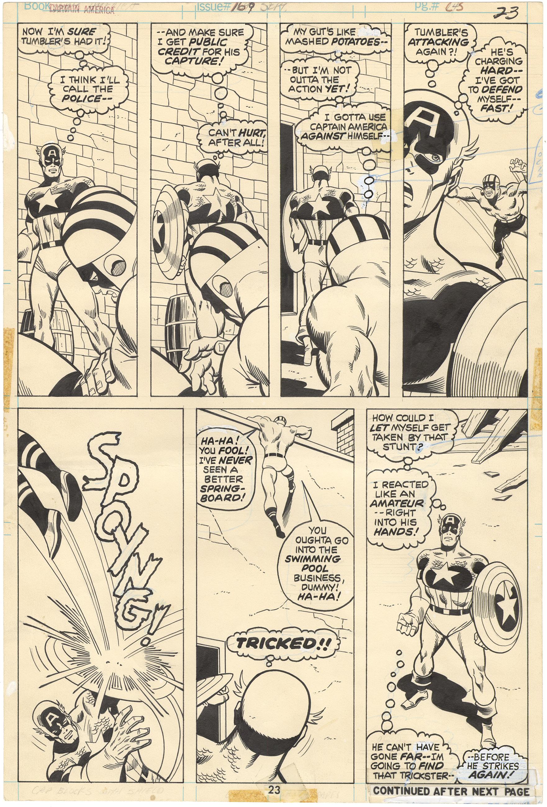 Captain America #169 p23