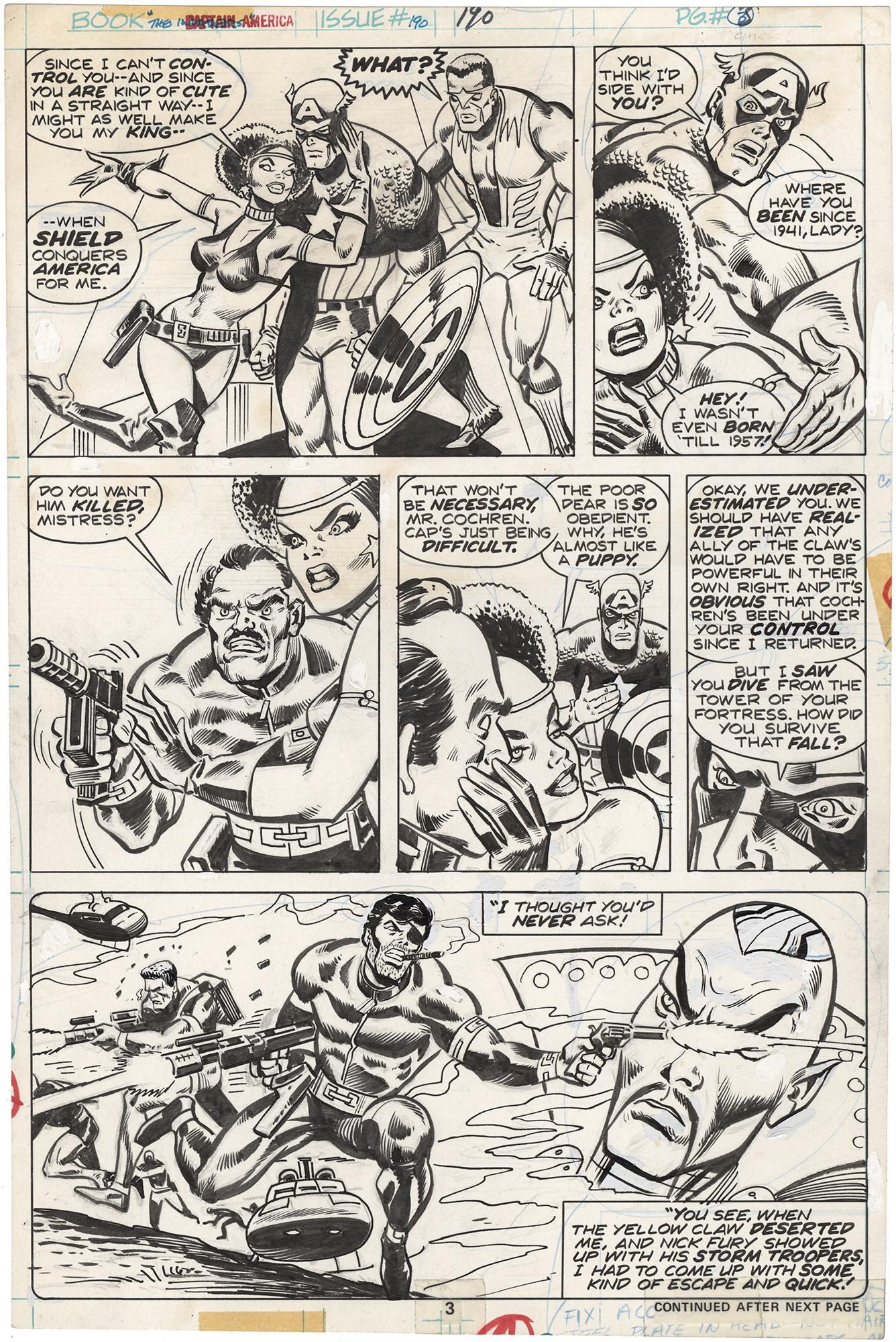 Captain America #190 p3