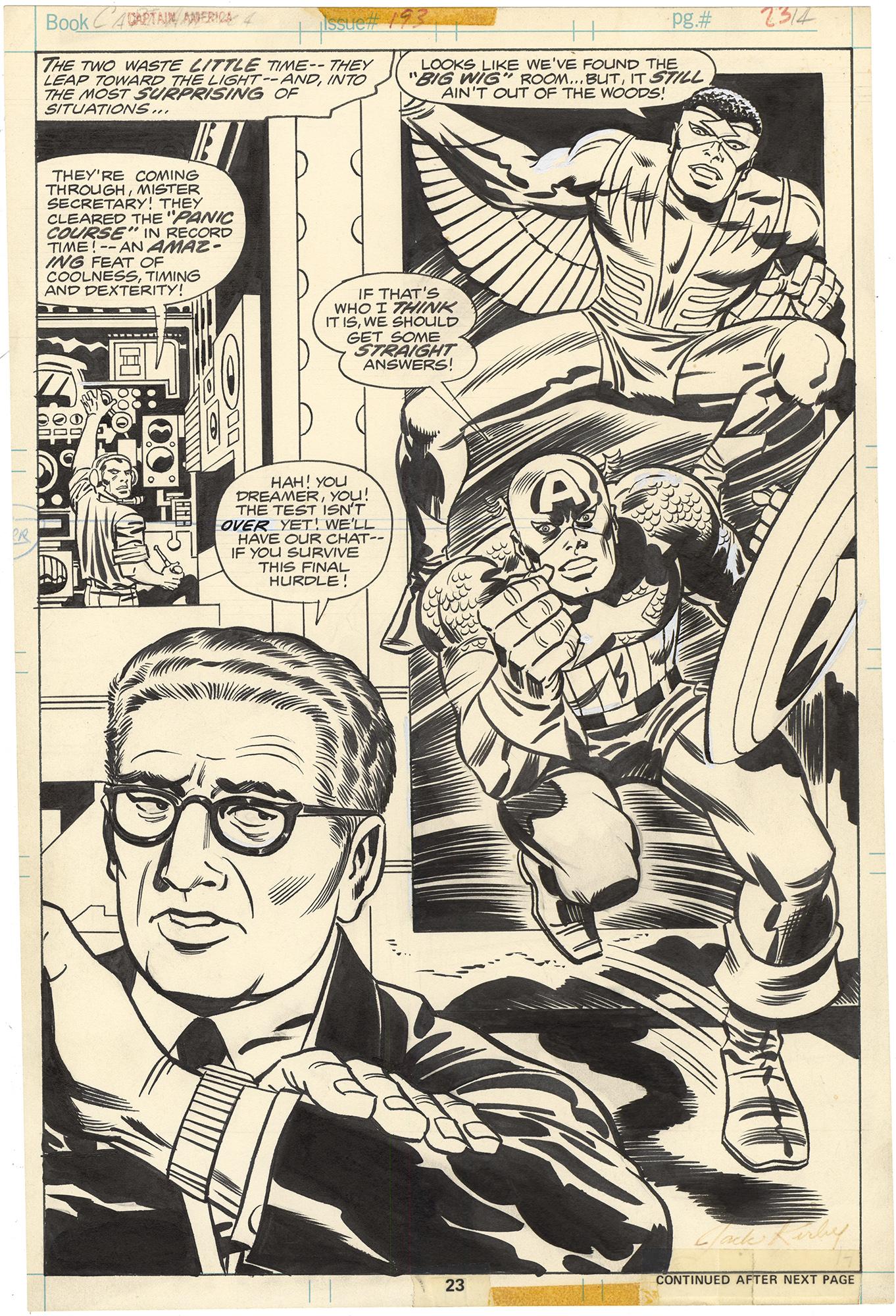 Captain America #193 p23