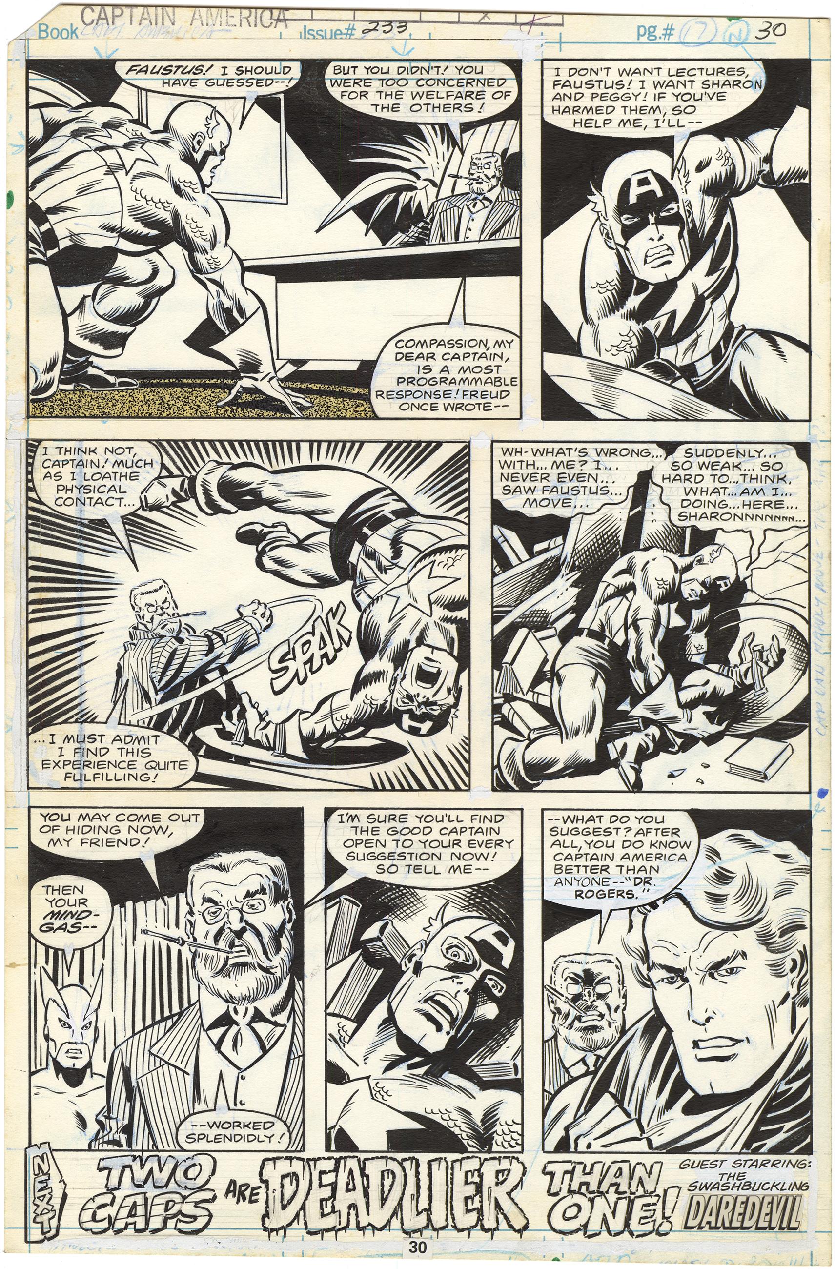 Captain America #233 p30