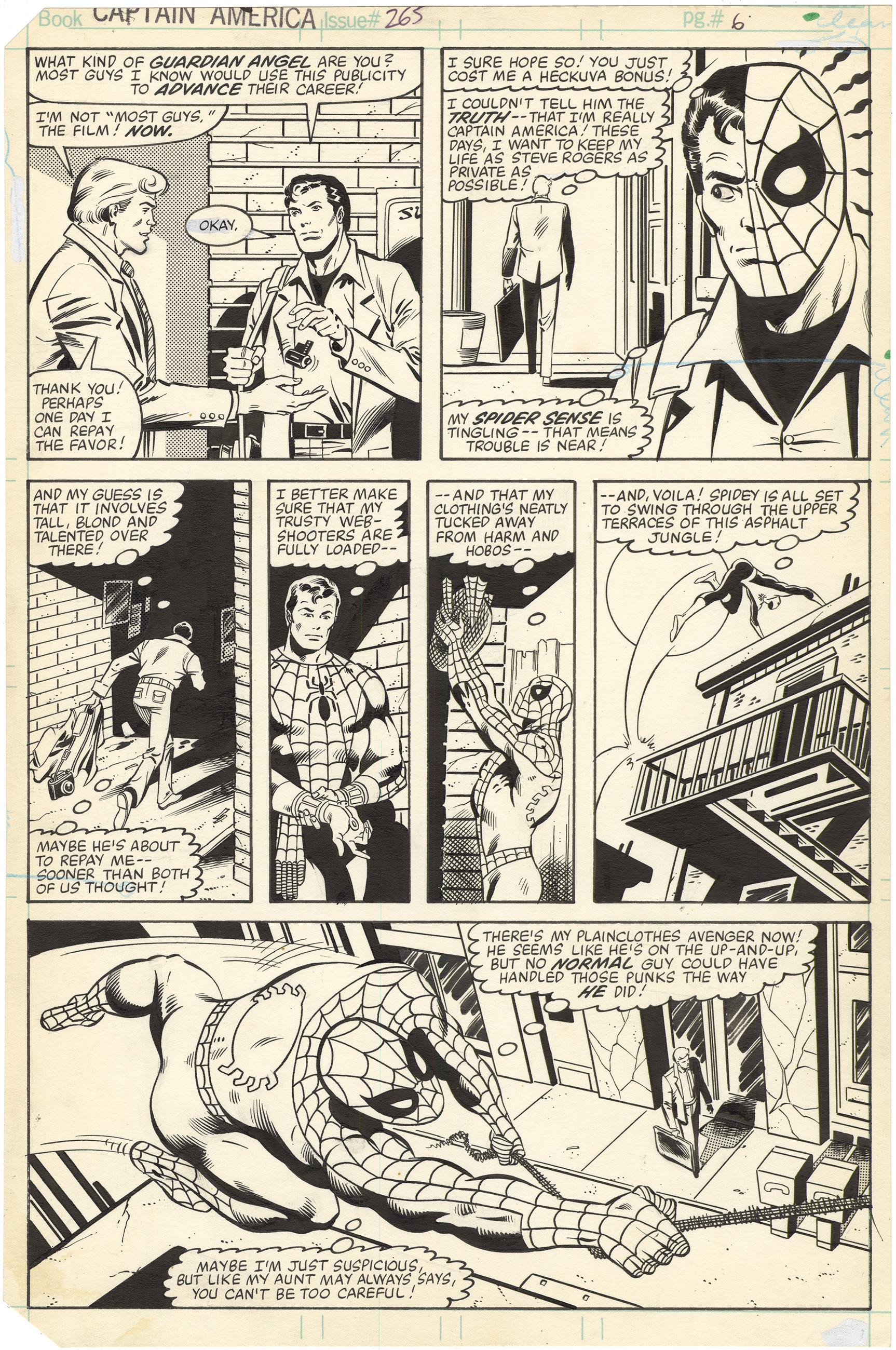 Captain America #265 p6
