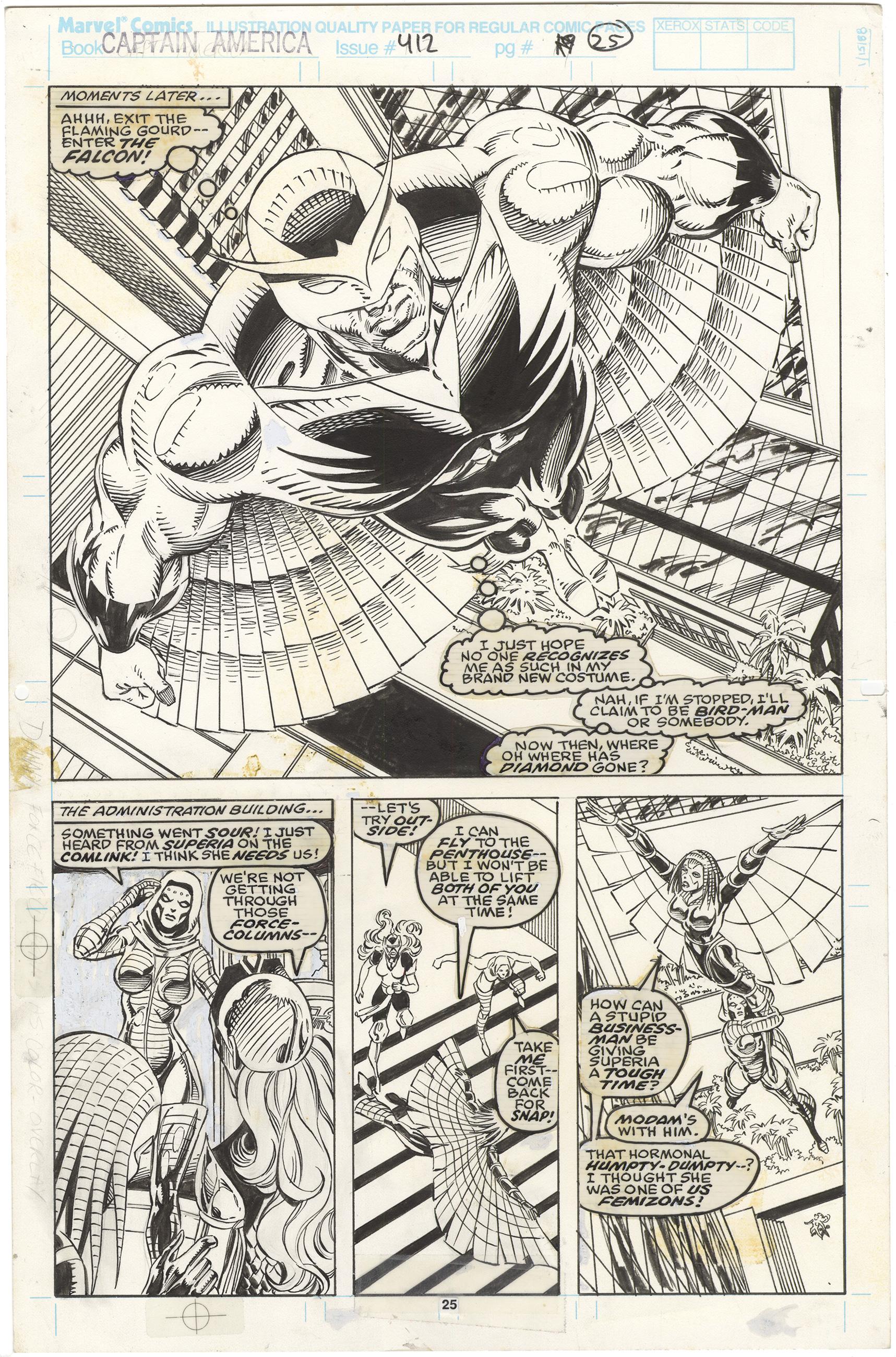 Captain America #412 p25