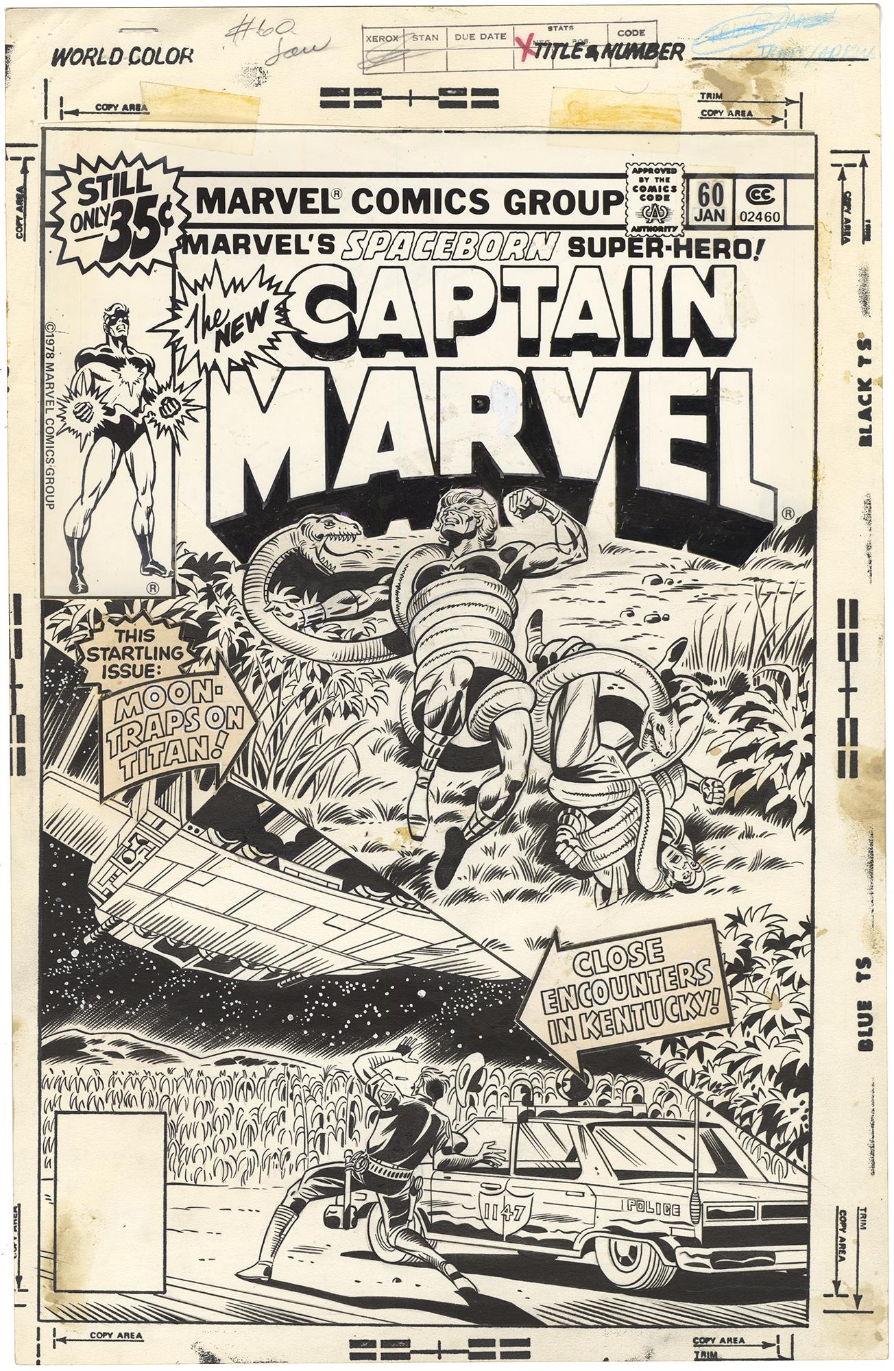 Captain Marvel #60 Cover