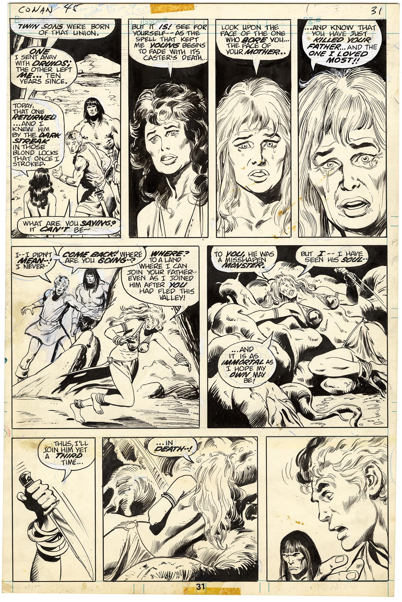 Conan the Barbarian #45 p31