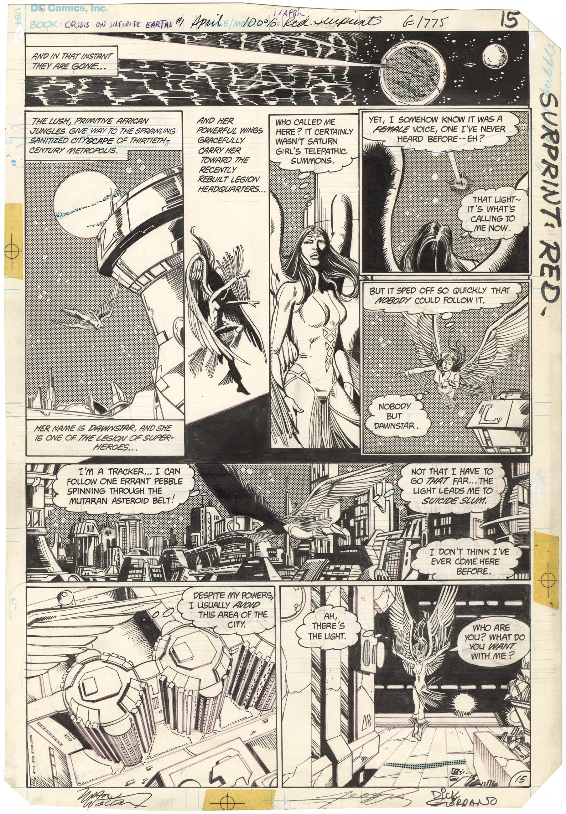 Crisis on Infinite Earths #1 p15