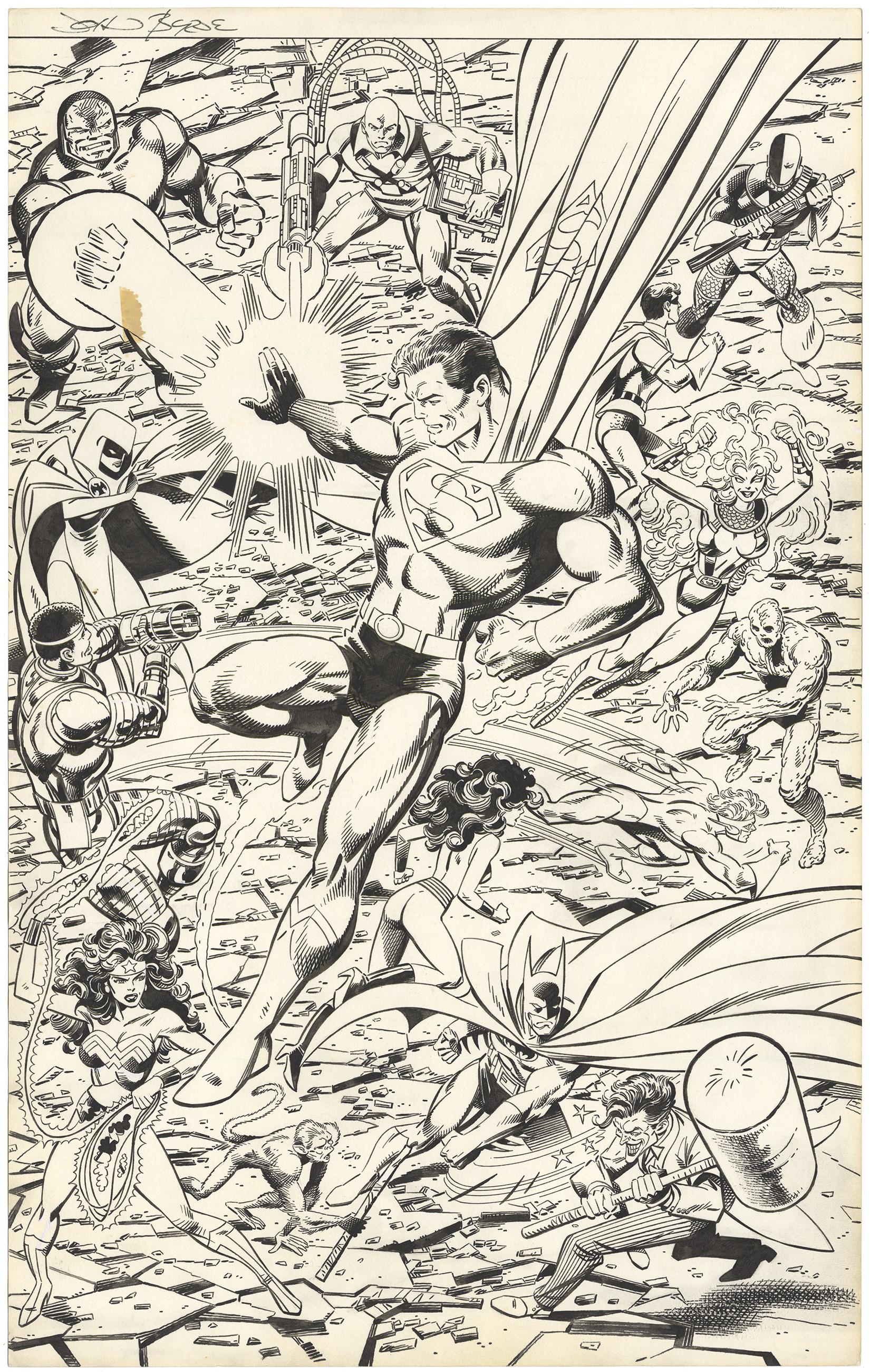 D.C. Comics Heroes Poster