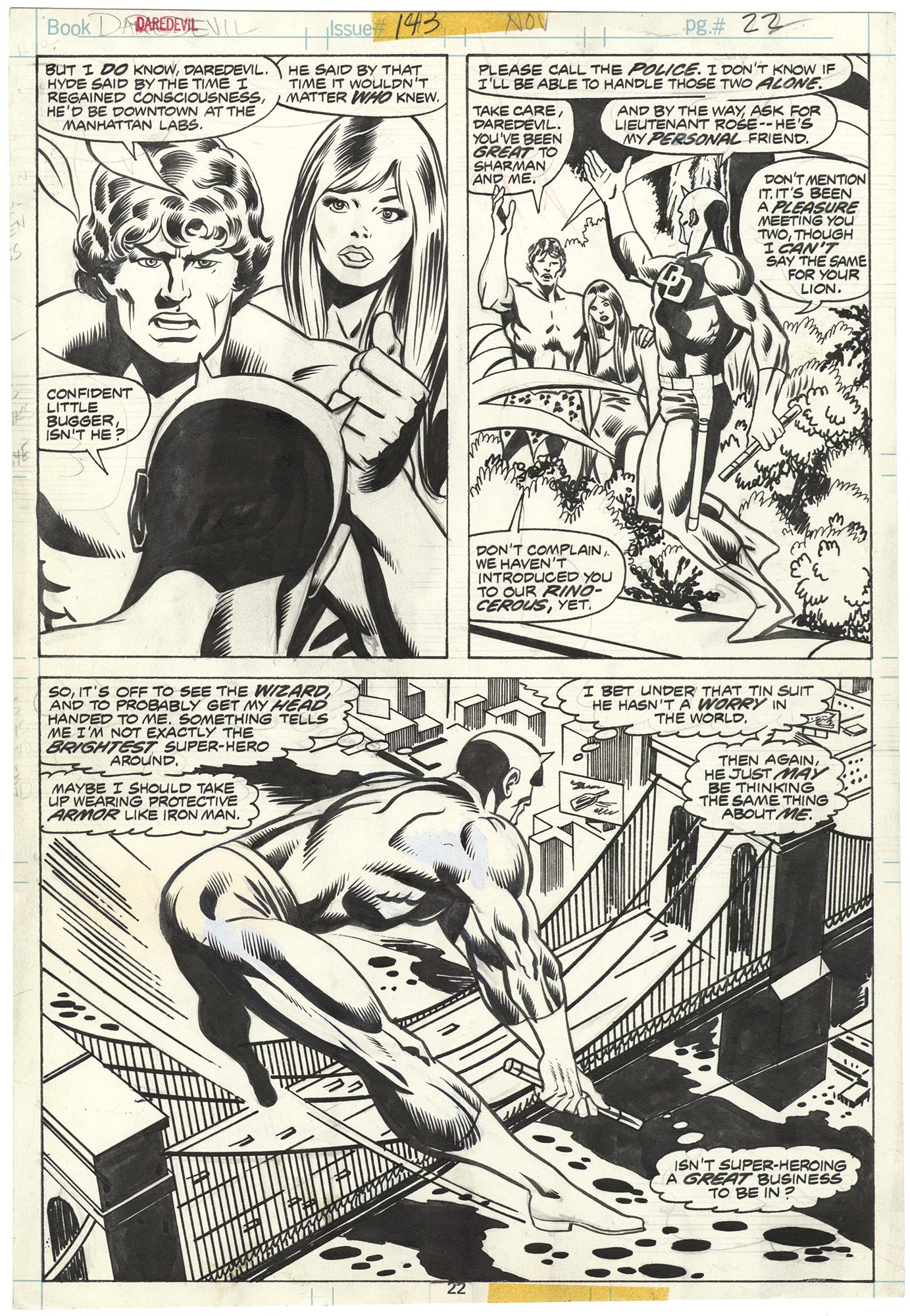 Daredevil #143 p22