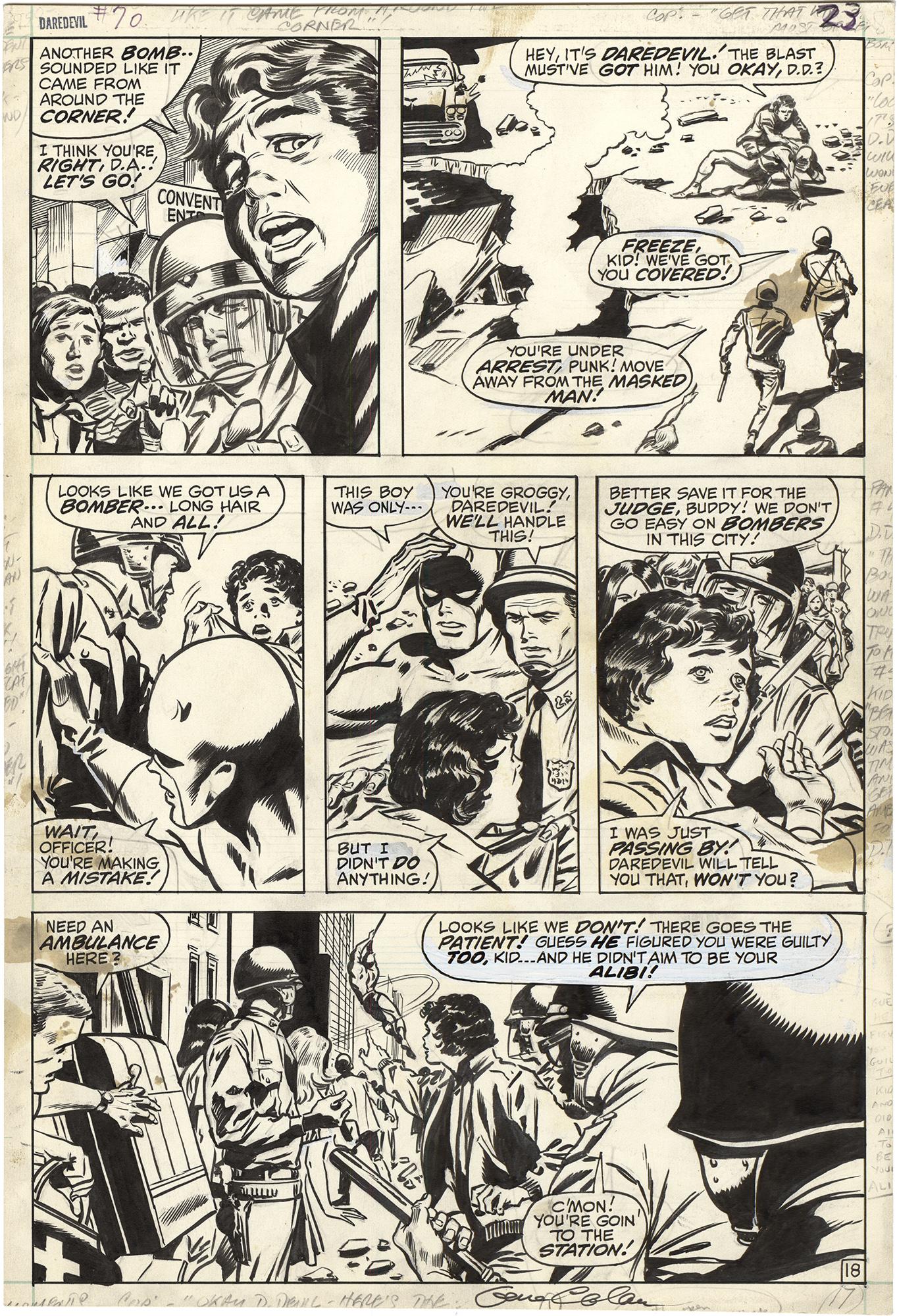 Daredevil #70 p18