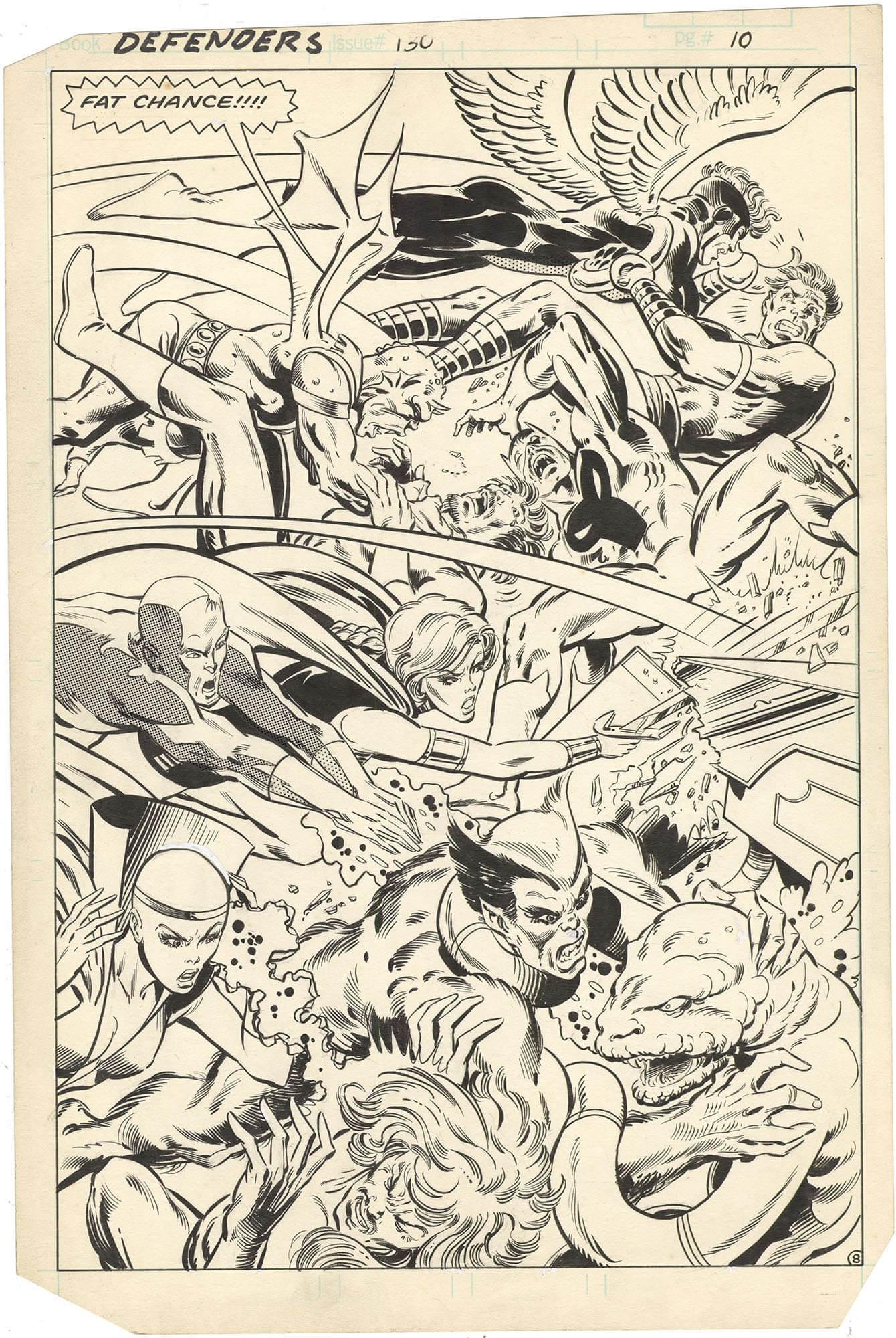 Defenders #130 p8 (Splash)