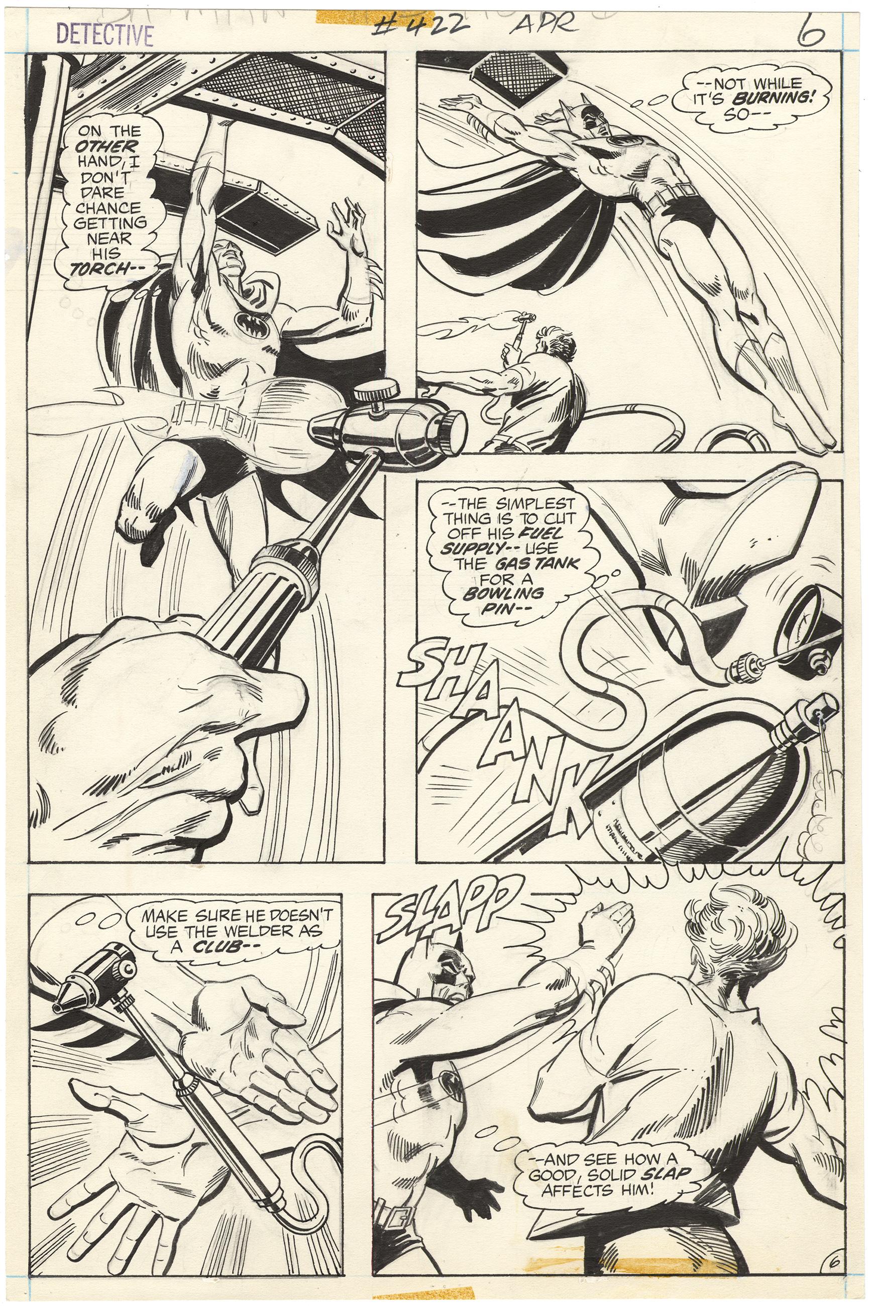 Detective Comics #422 p6