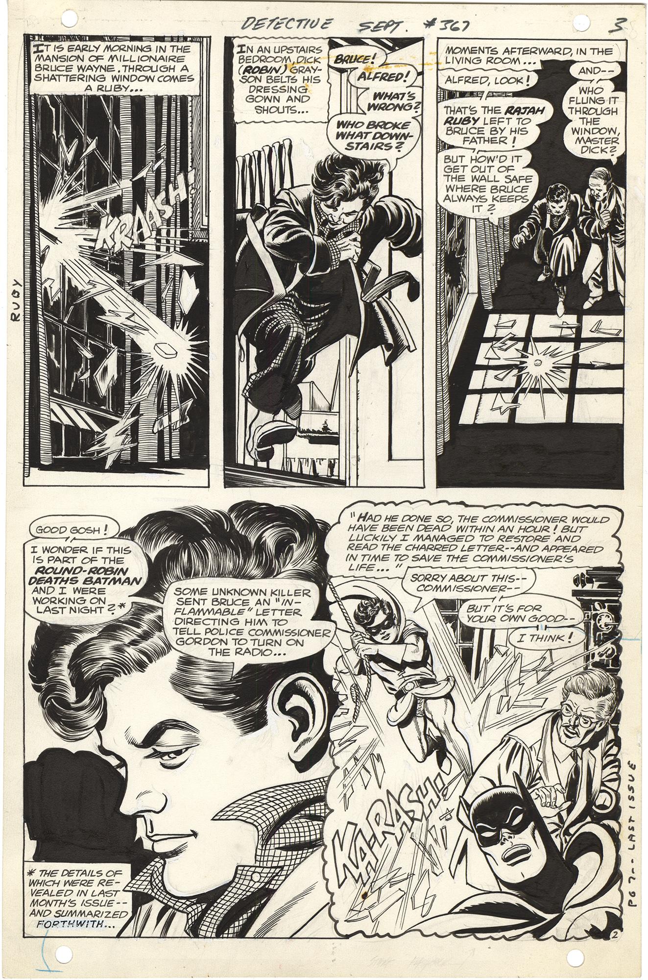 Detective Comics #367 p2