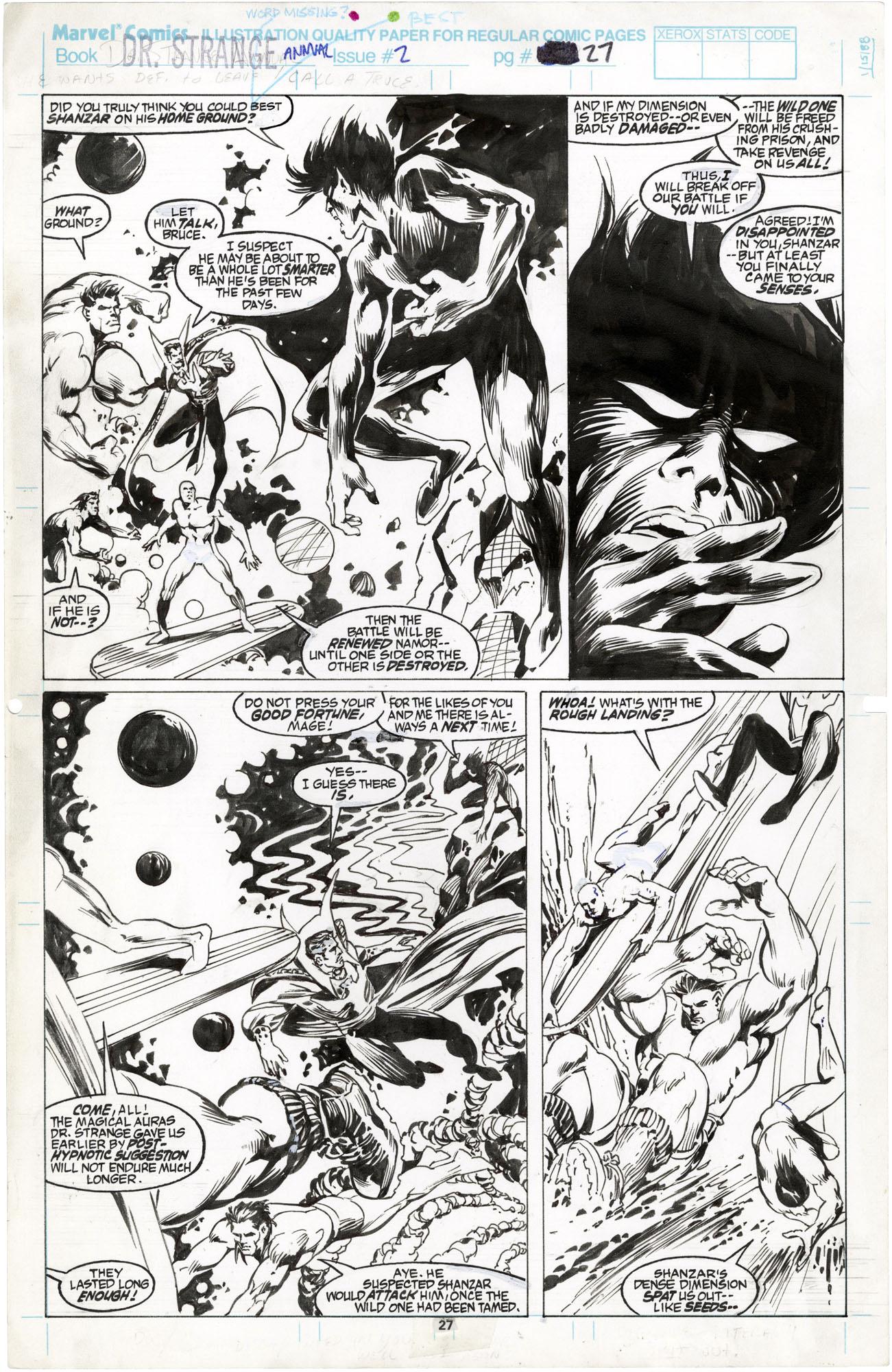 Doctor Strange Annual #2 p27