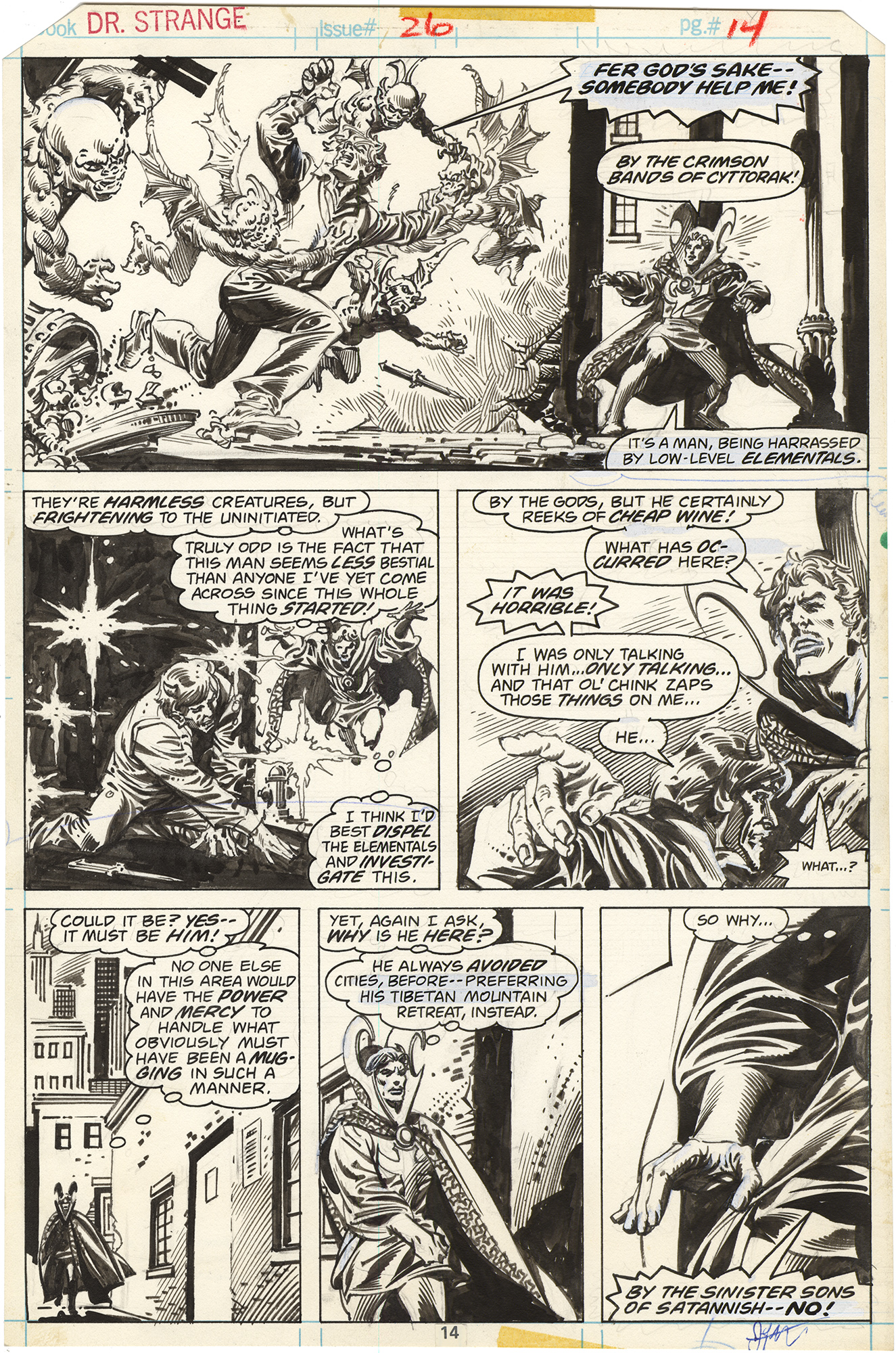 Doctor Strange #26 p14