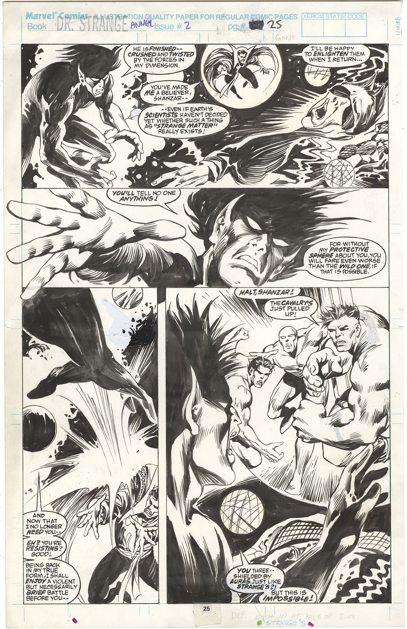 Doctor Strange Annual #2 p25