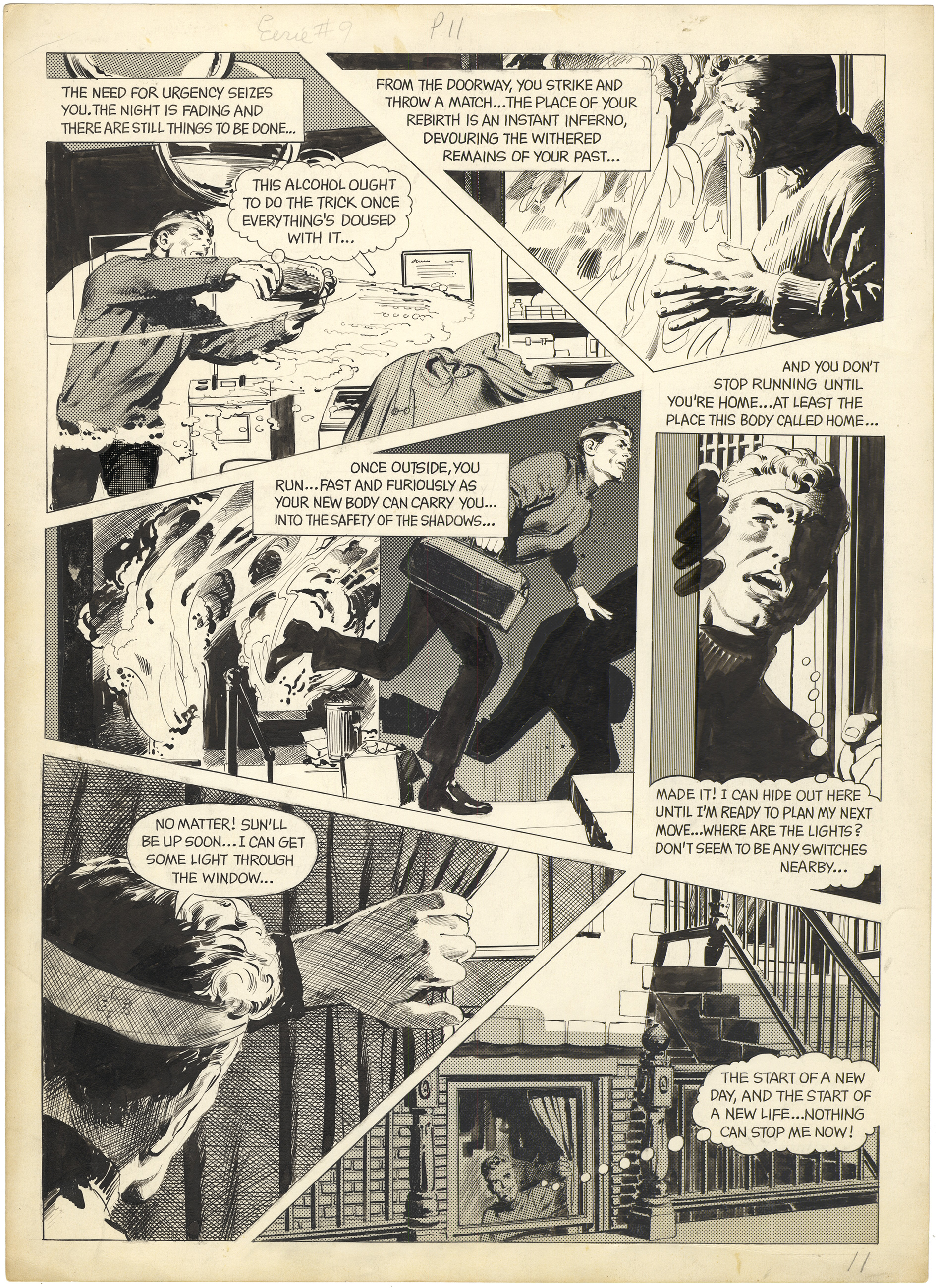 Eerie #9 p11 (First Adams)