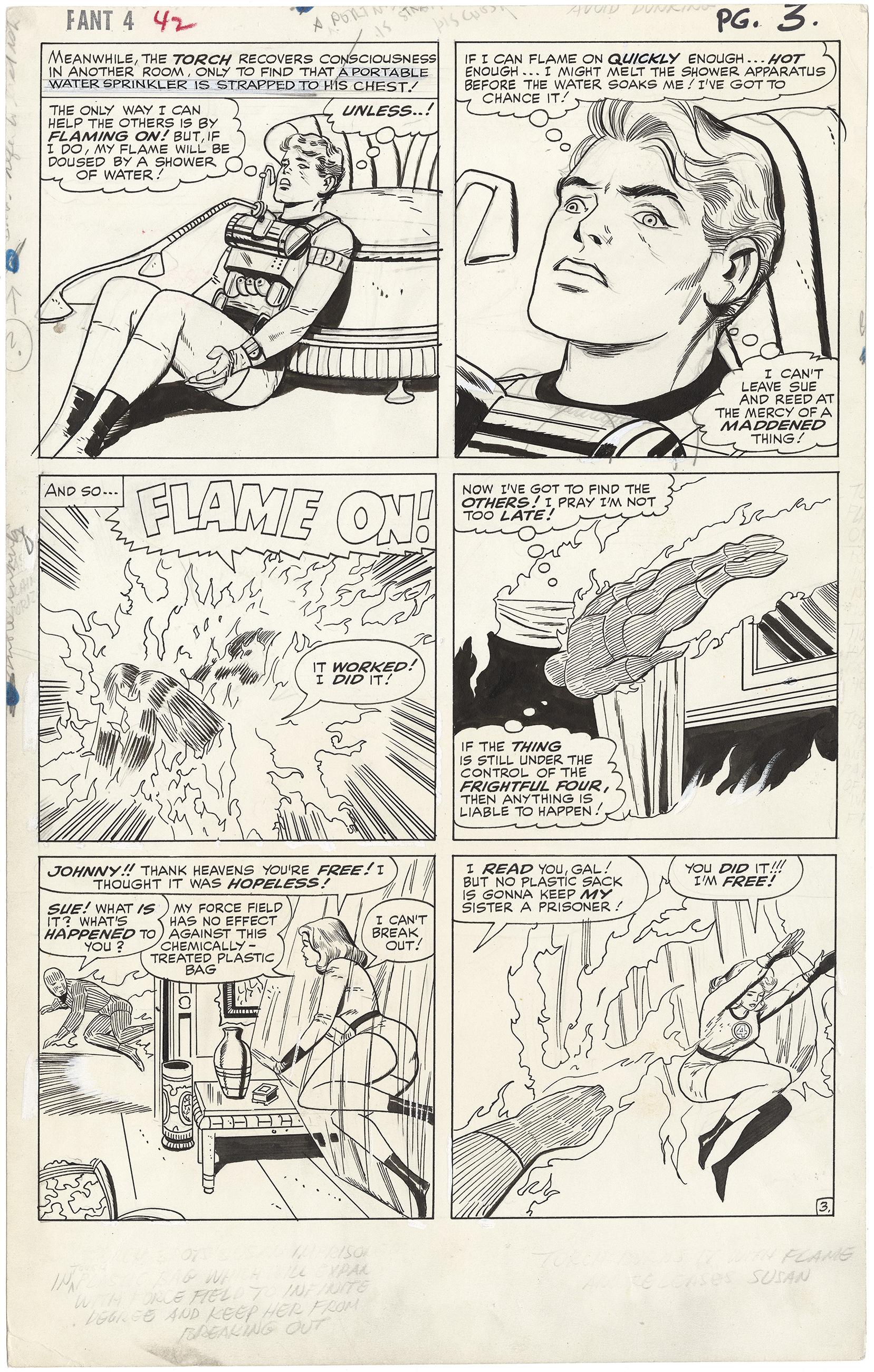 Fantastic Four Issue #42 p3